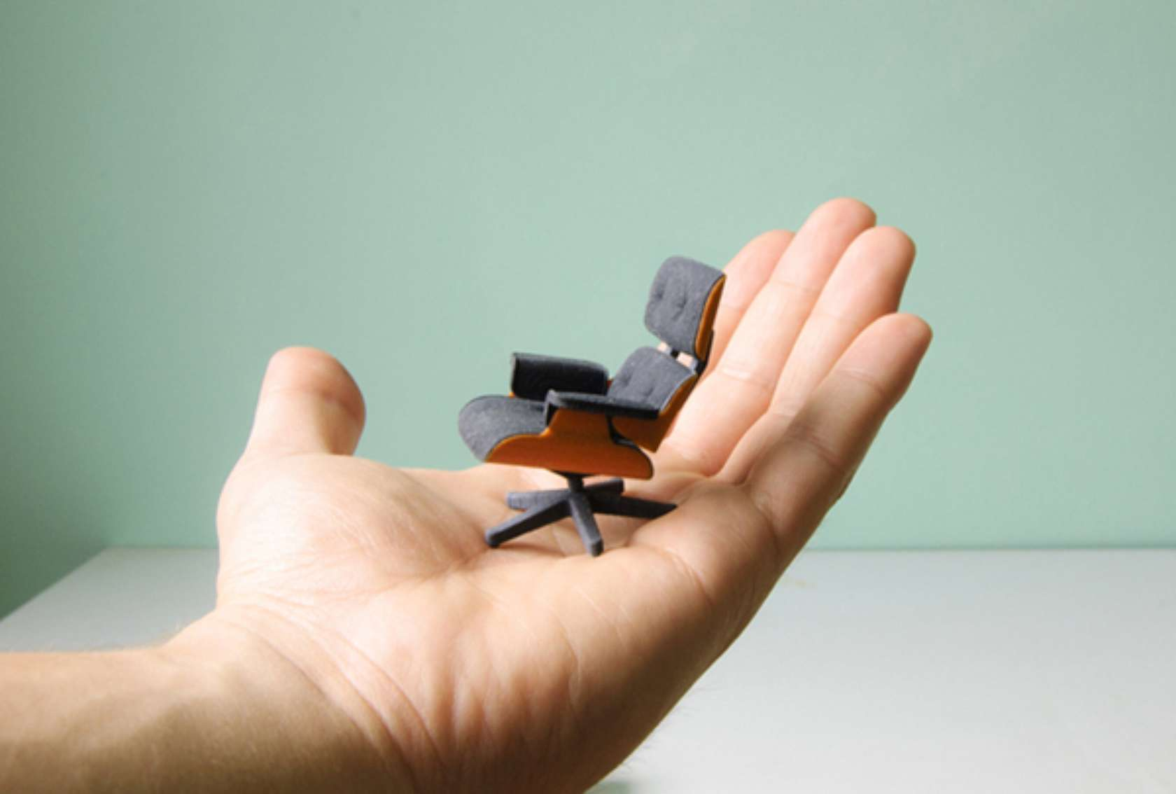 3D Print This Miniature Eames Lounge Chair Architizer