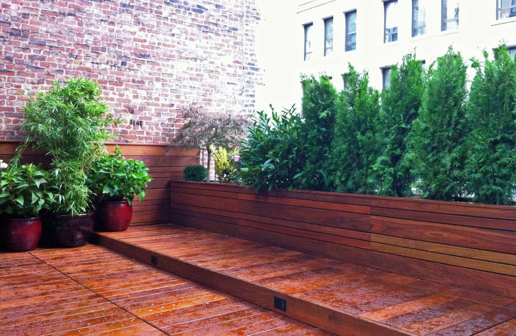 Ipe Deck 19th Street Manhattan Architizer