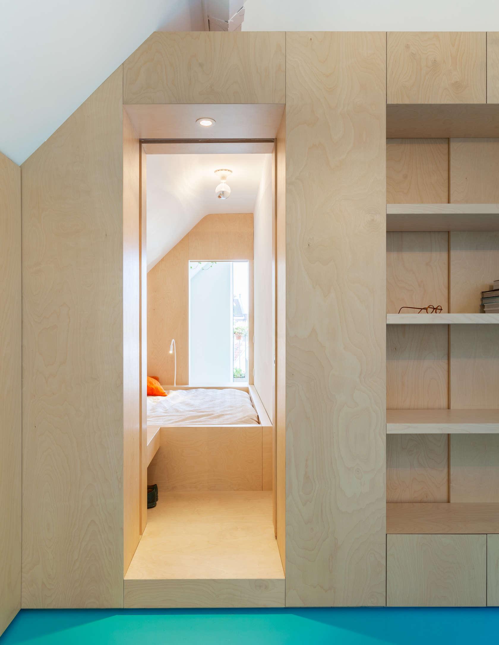 Urban loft amsterdam architizer - Nachtkastje voor loftbed ...