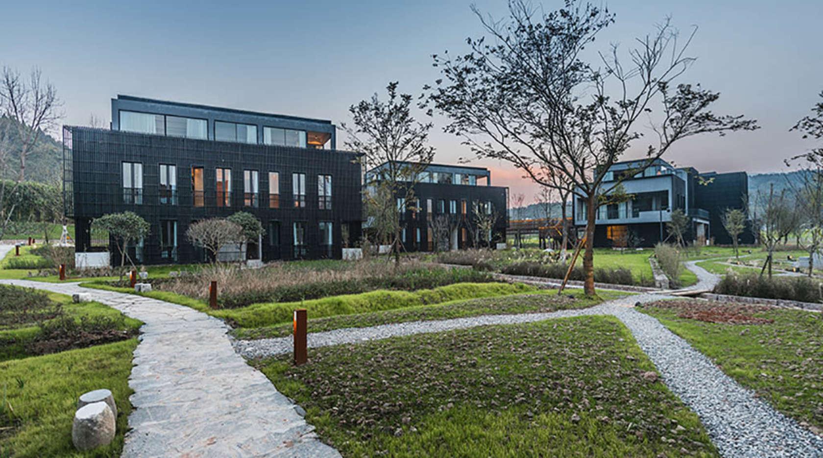 Fushengyu Hotspring resort - Architizer