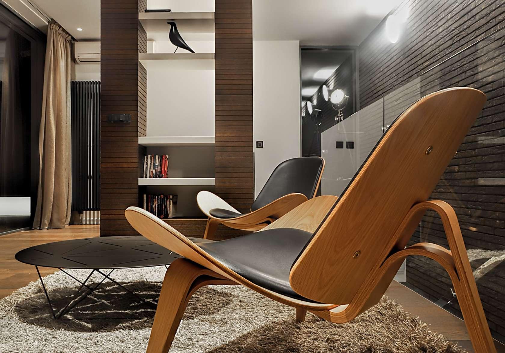 family lutovac flat architizer. Black Bedroom Furniture Sets. Home Design Ideas