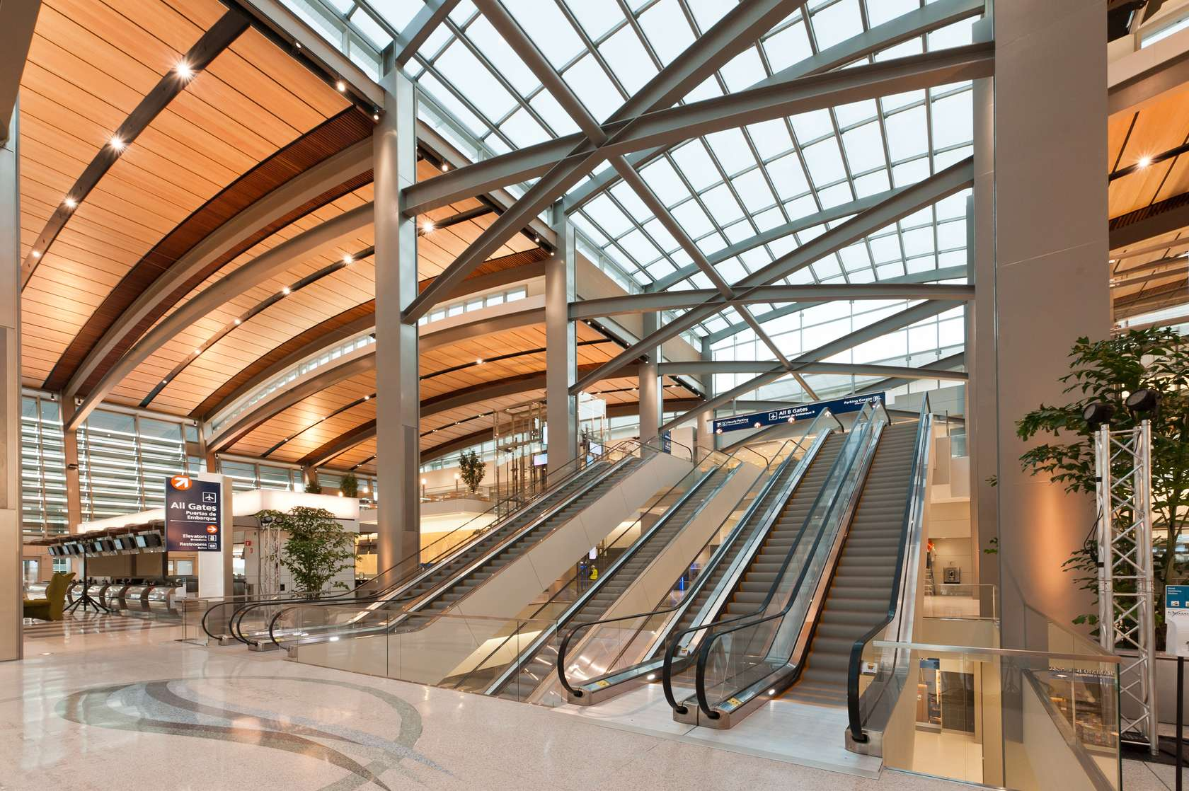 Smf central terminal b architizer for Architecture firms sacramento