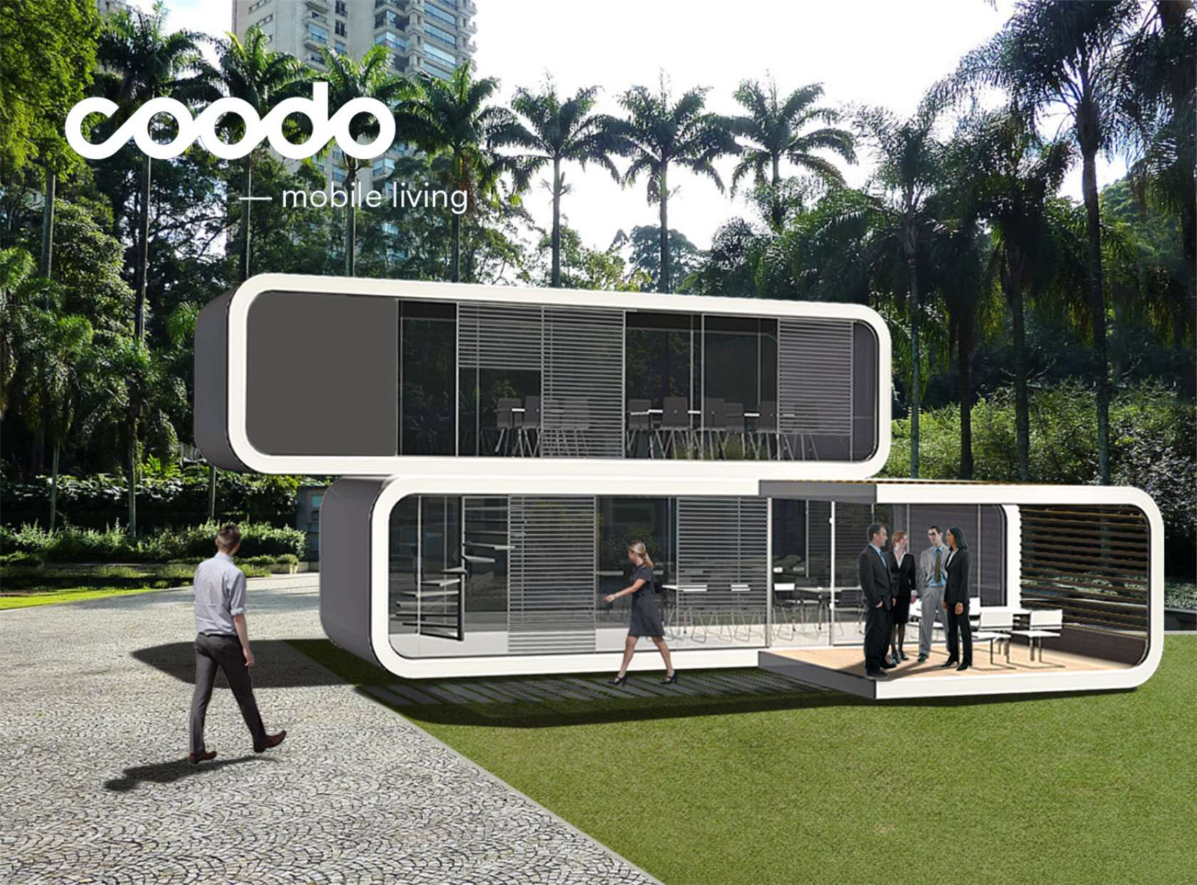 Coodo mobile living architizer for Mobile living
