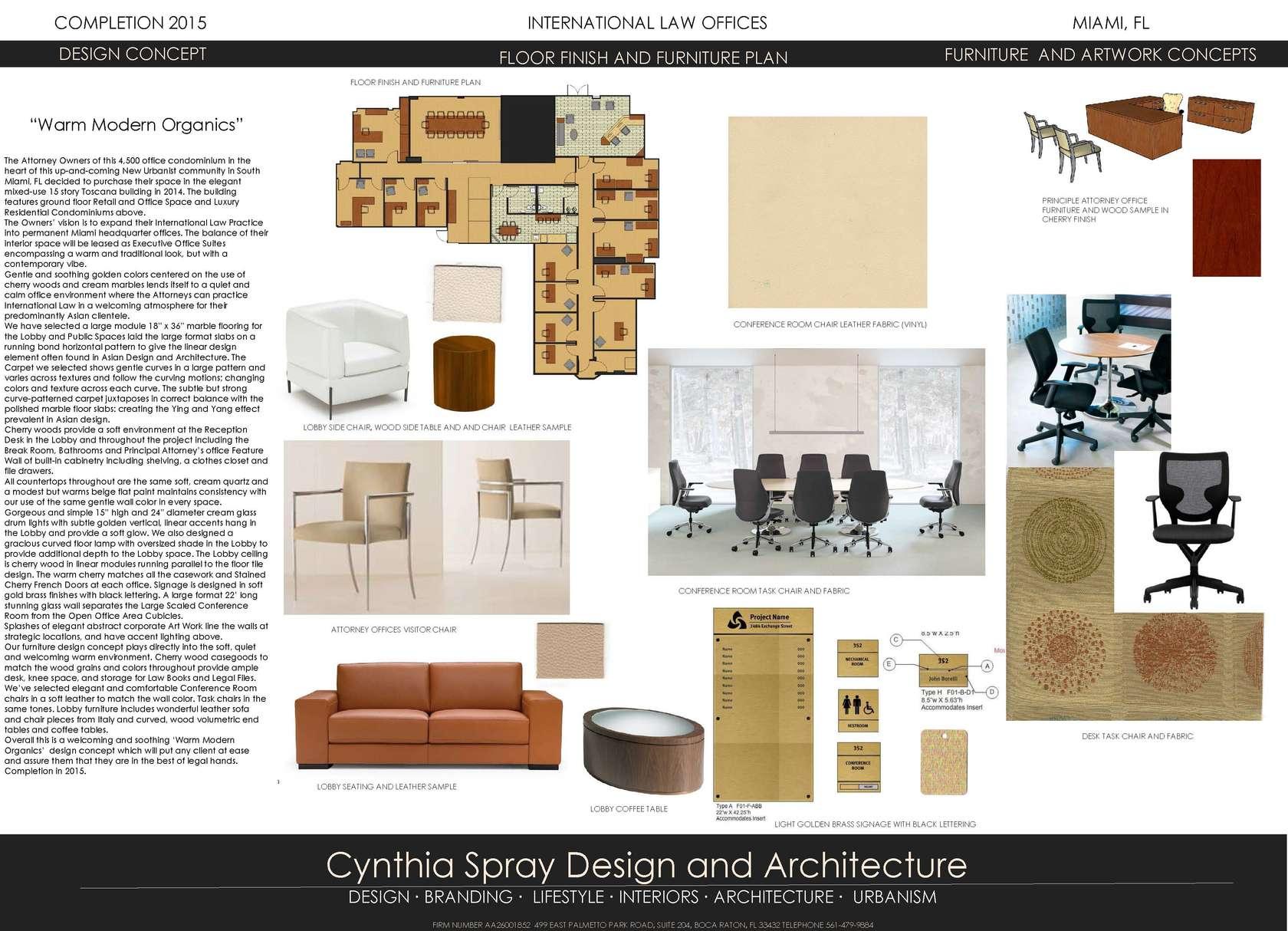 Cynthia Spray Design and Architecture - Architizer