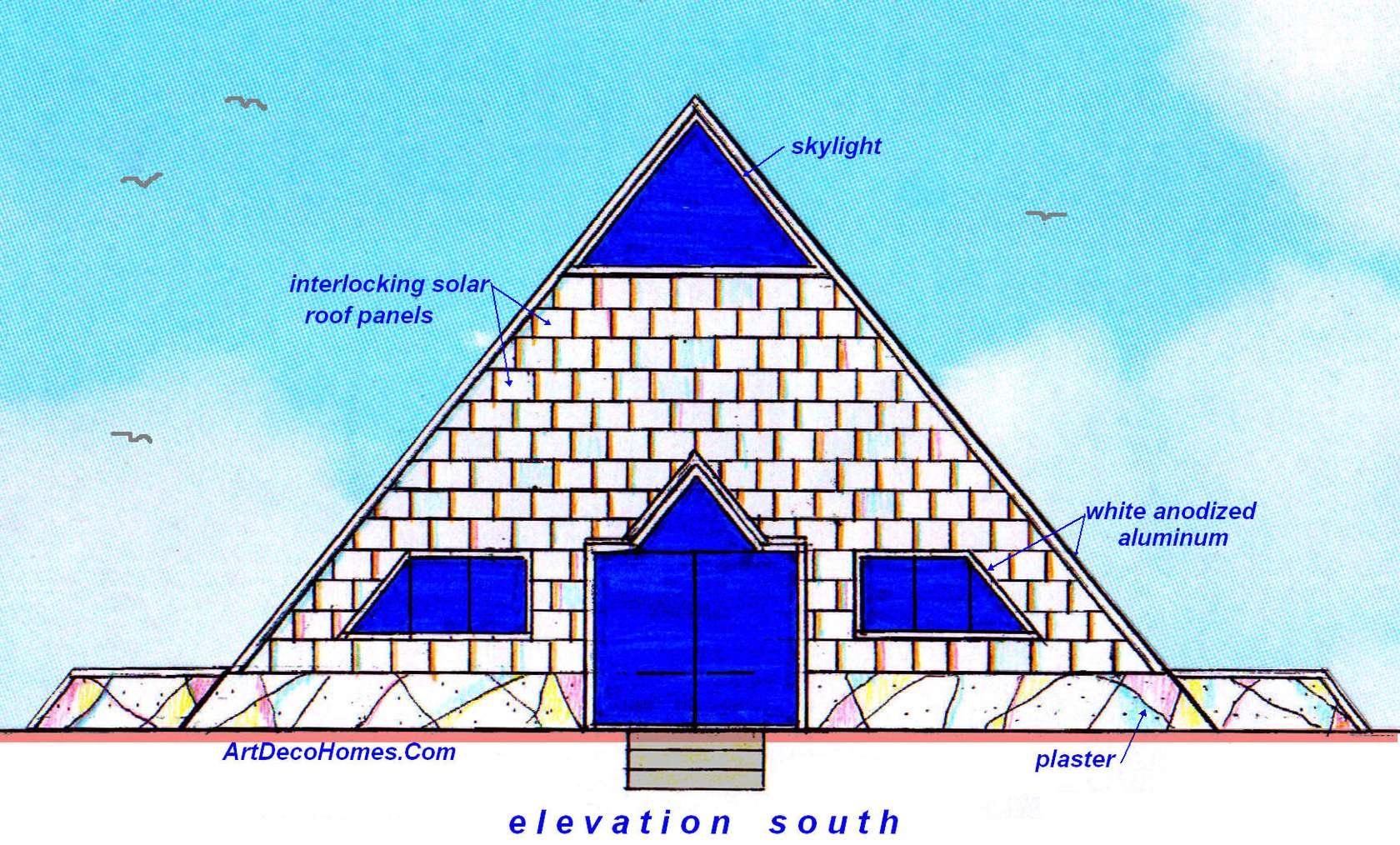 Pyramid House Plan Design Architizer