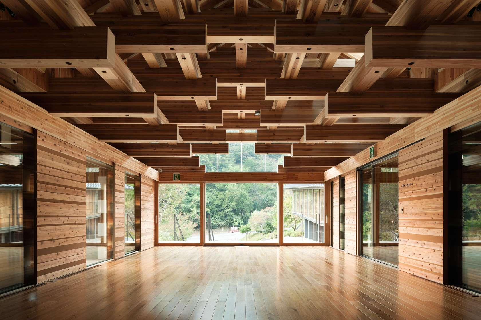 Holding their own 9 glulam projects that transcend - Wood house structure design ...