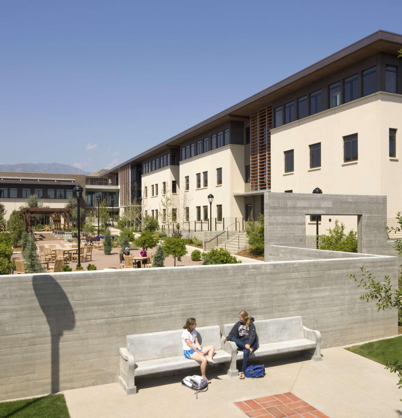 Pomona College In Claremont California Pomona College: Pomona College New Student Housing