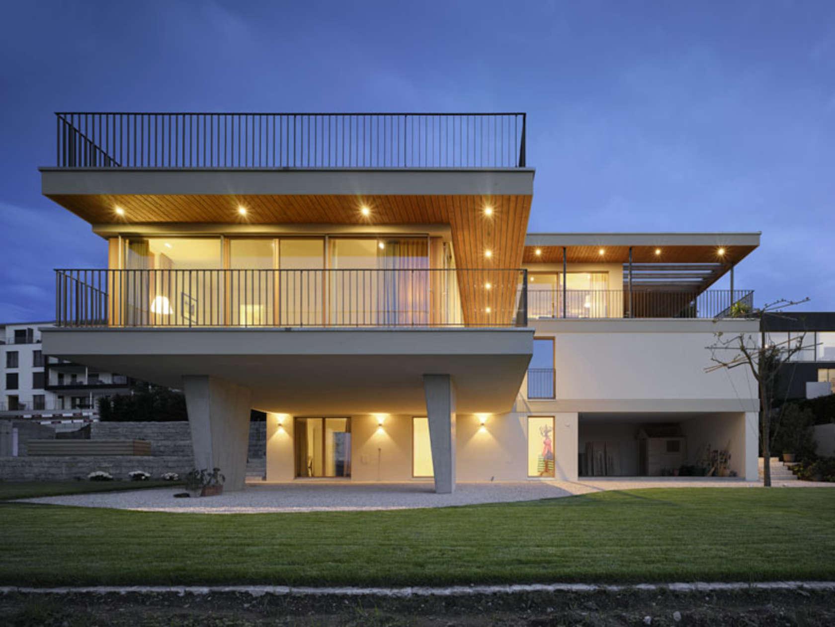 contemporary villa lake zurich architizer. Black Bedroom Furniture Sets. Home Design Ideas