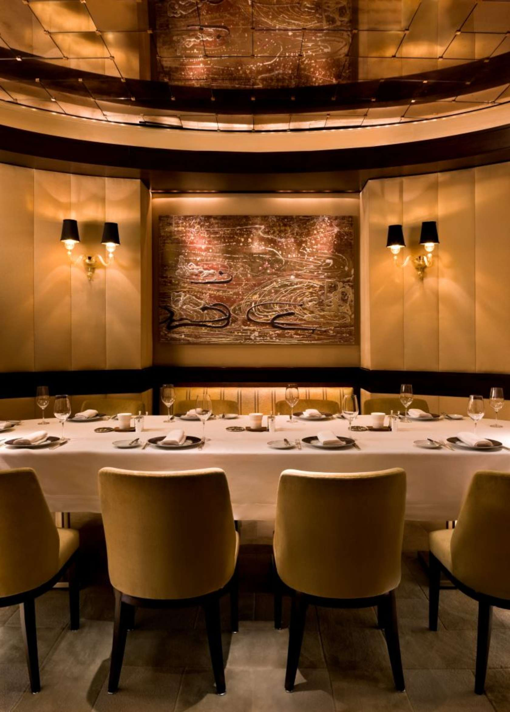 Adour alain ducasse at the st regis architizer for Dining room 56 willoughby street