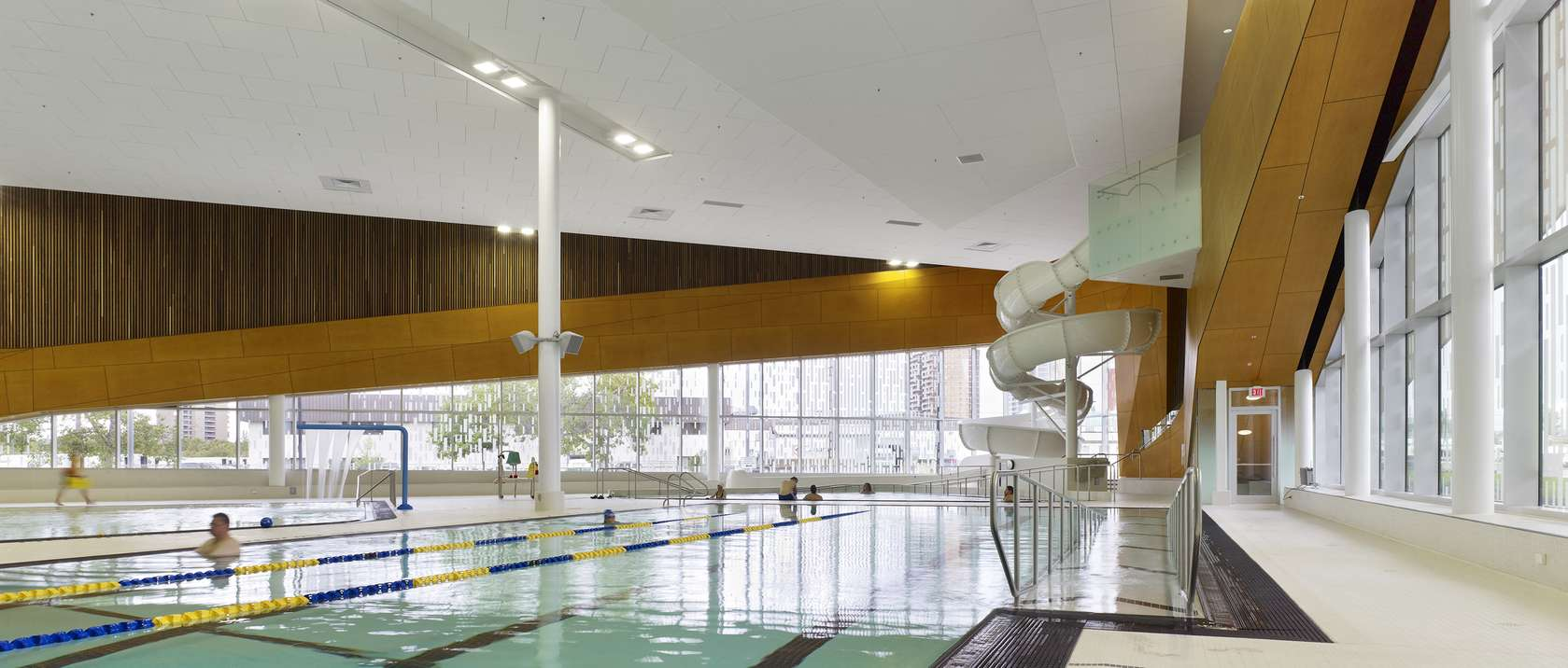 Commonwealth Community Recreation Centre Architizer