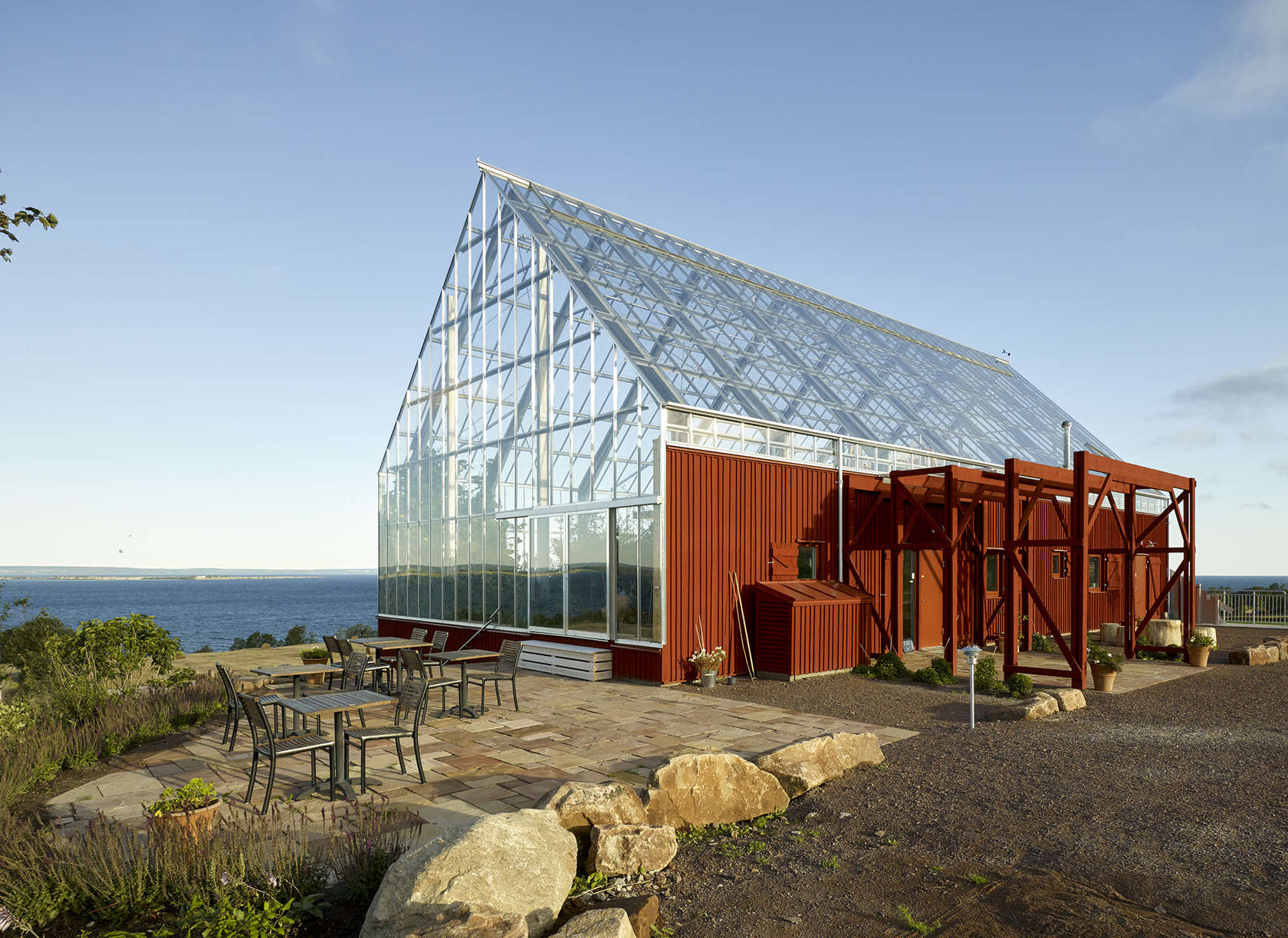 Uppgrenna naturehouse architizer for Greenhouse architecture design