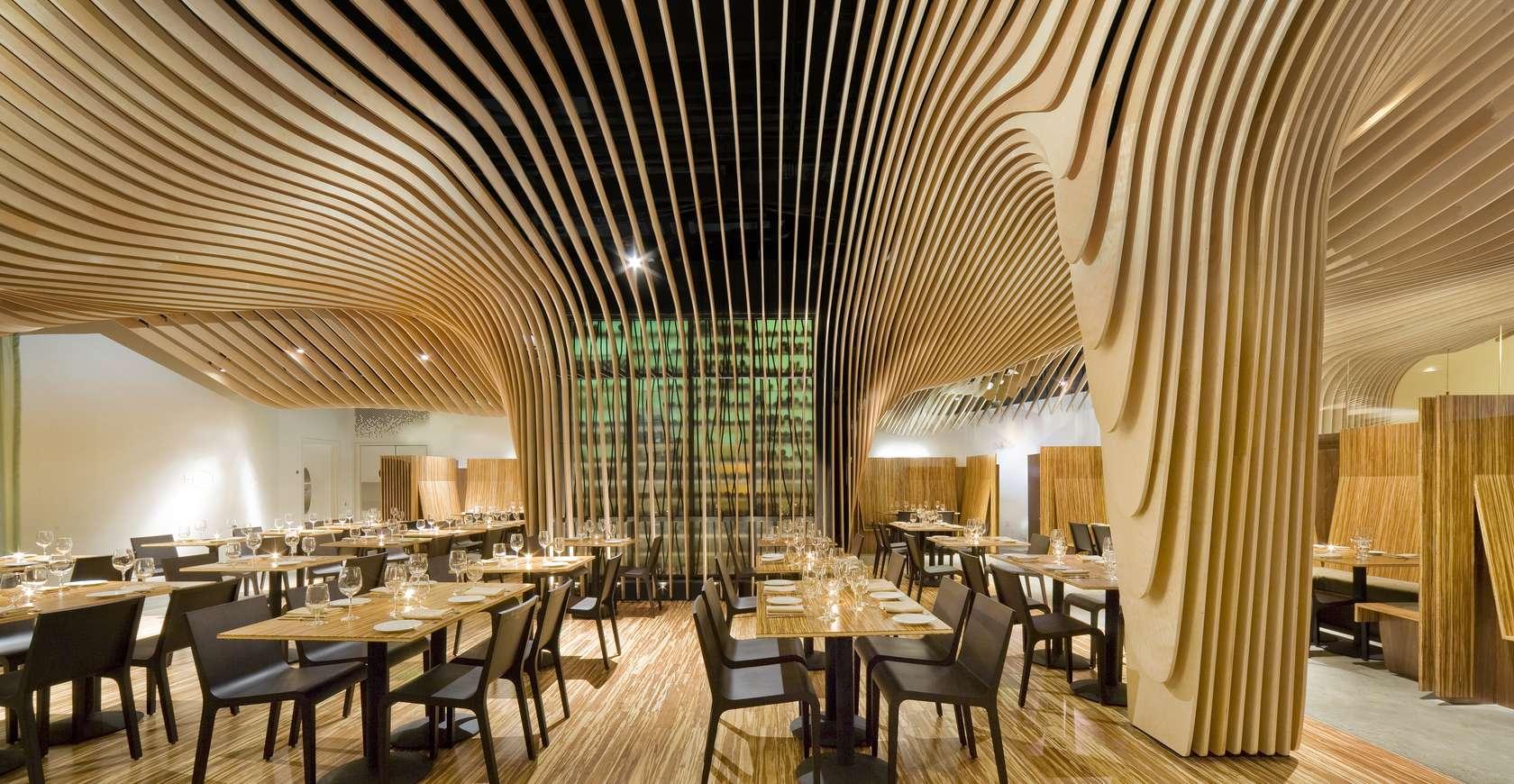 banq restaurant architizer