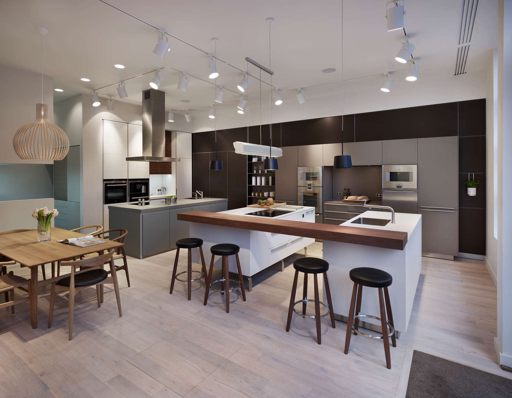 kitchen architecture s bulthaup showroom in cheshire