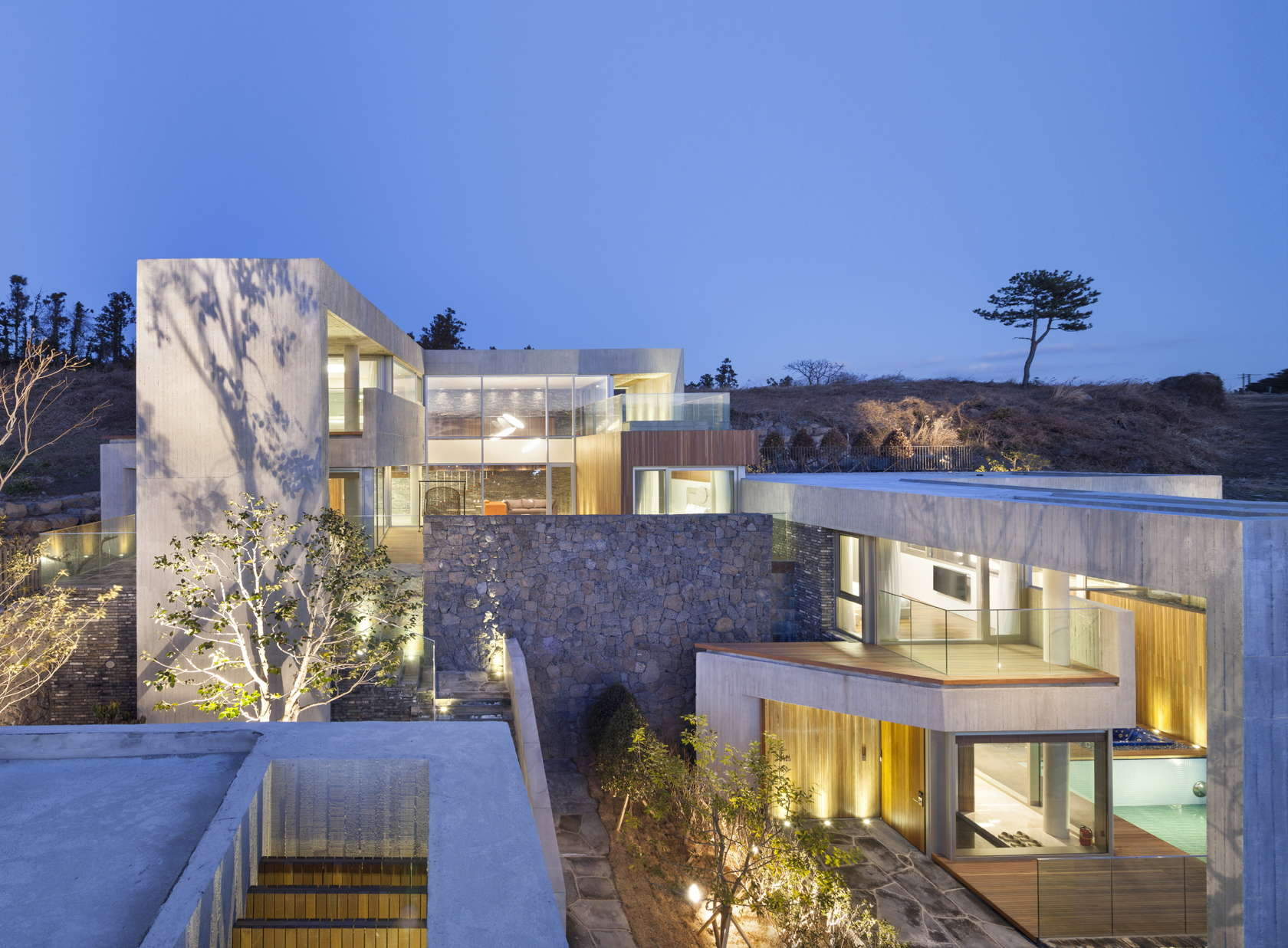 Jeju Bayhill Pool Amp Villa Egoistic Cropping Architizer