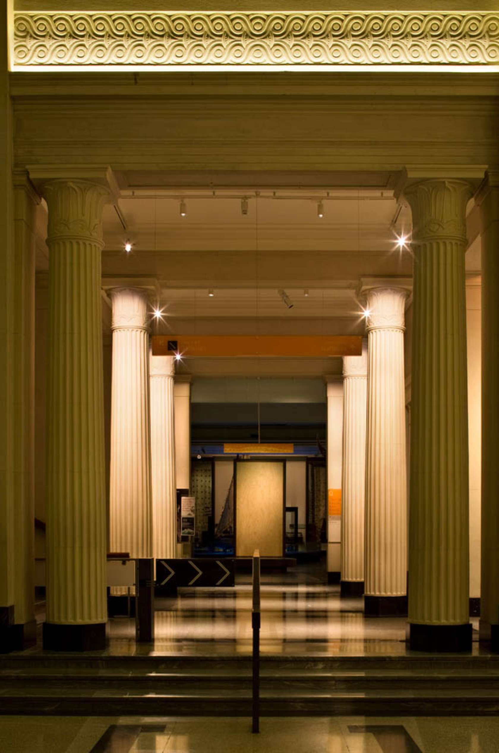 Grand Foyer Auckland Museum : Auckland museum grand foyer architizer