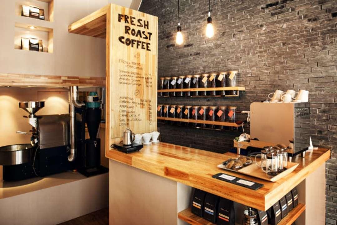 Фото дизайн интерьера кофейни