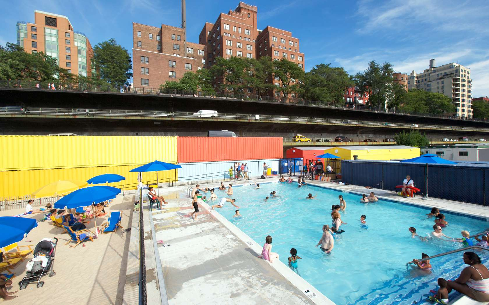 Brooklyn Bridge Park Pop Up Pool Architizer