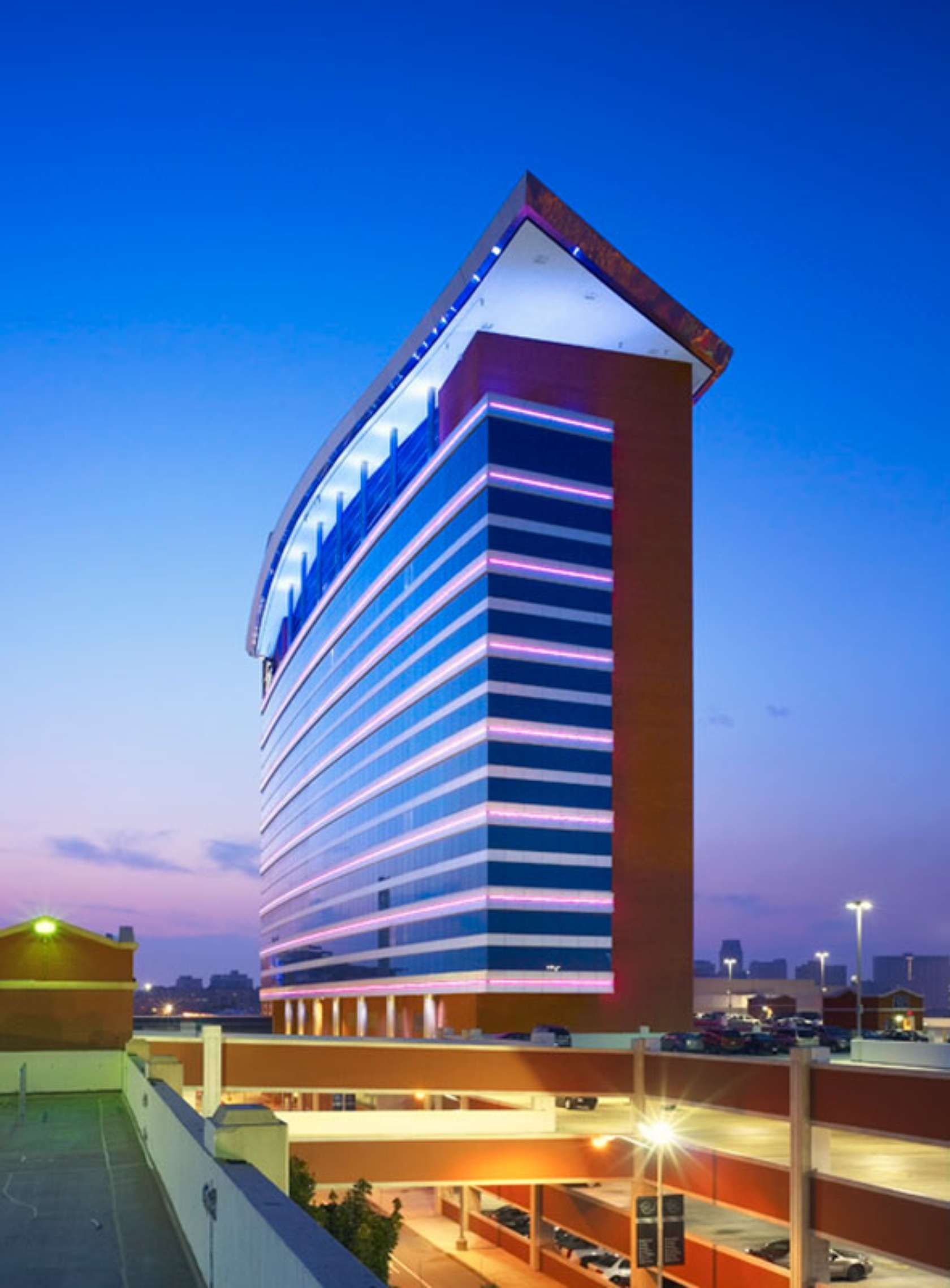 Motorcity casino and hotel architizer for Motor city casino hotel rooms