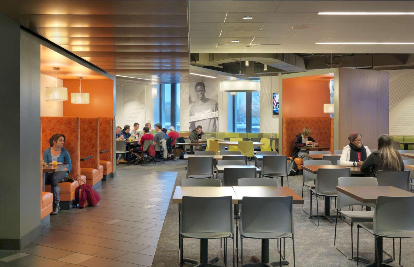 Bergmeyer architizer for Endicott college interior design