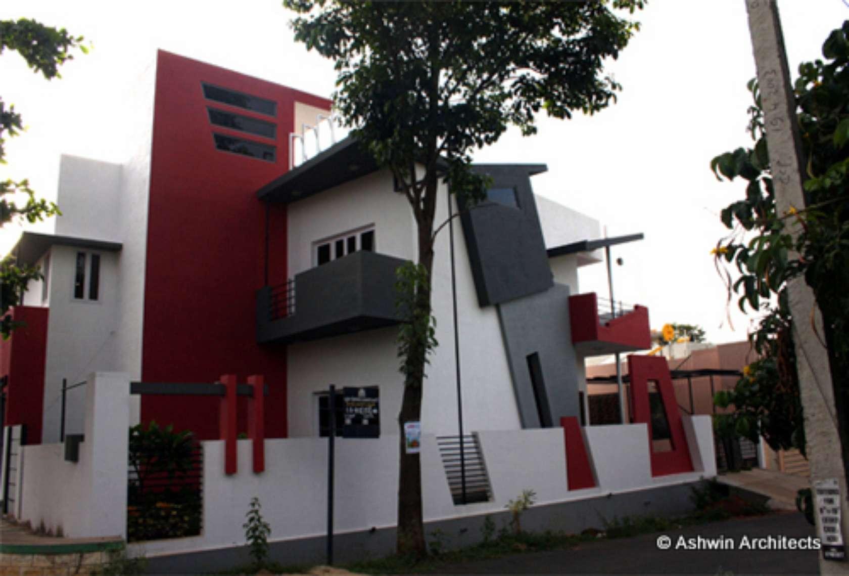 60 X 40 SE Corner Duplex House Of Anoop In Bangalore