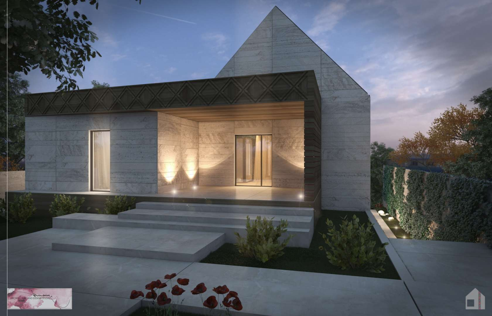 Ready and gable the triangular roof is back architizer