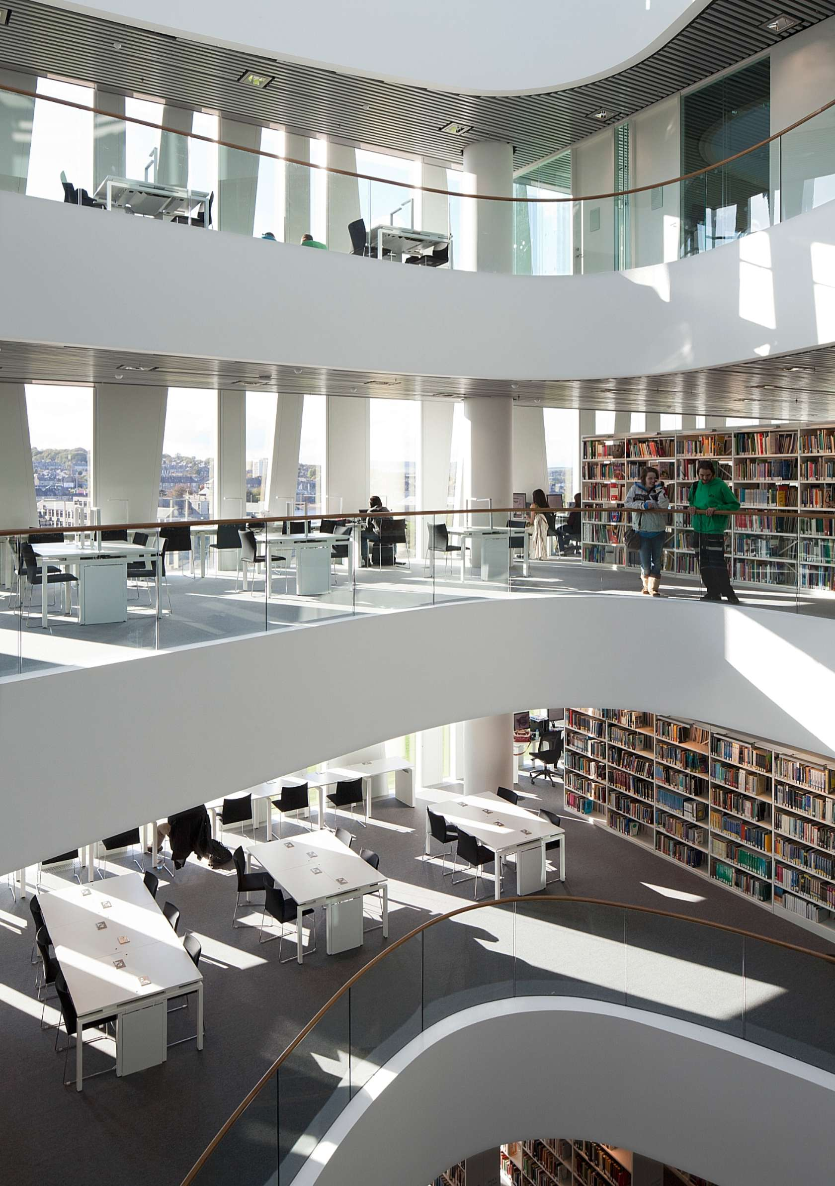 University Of Aberdeen New Library Architizer