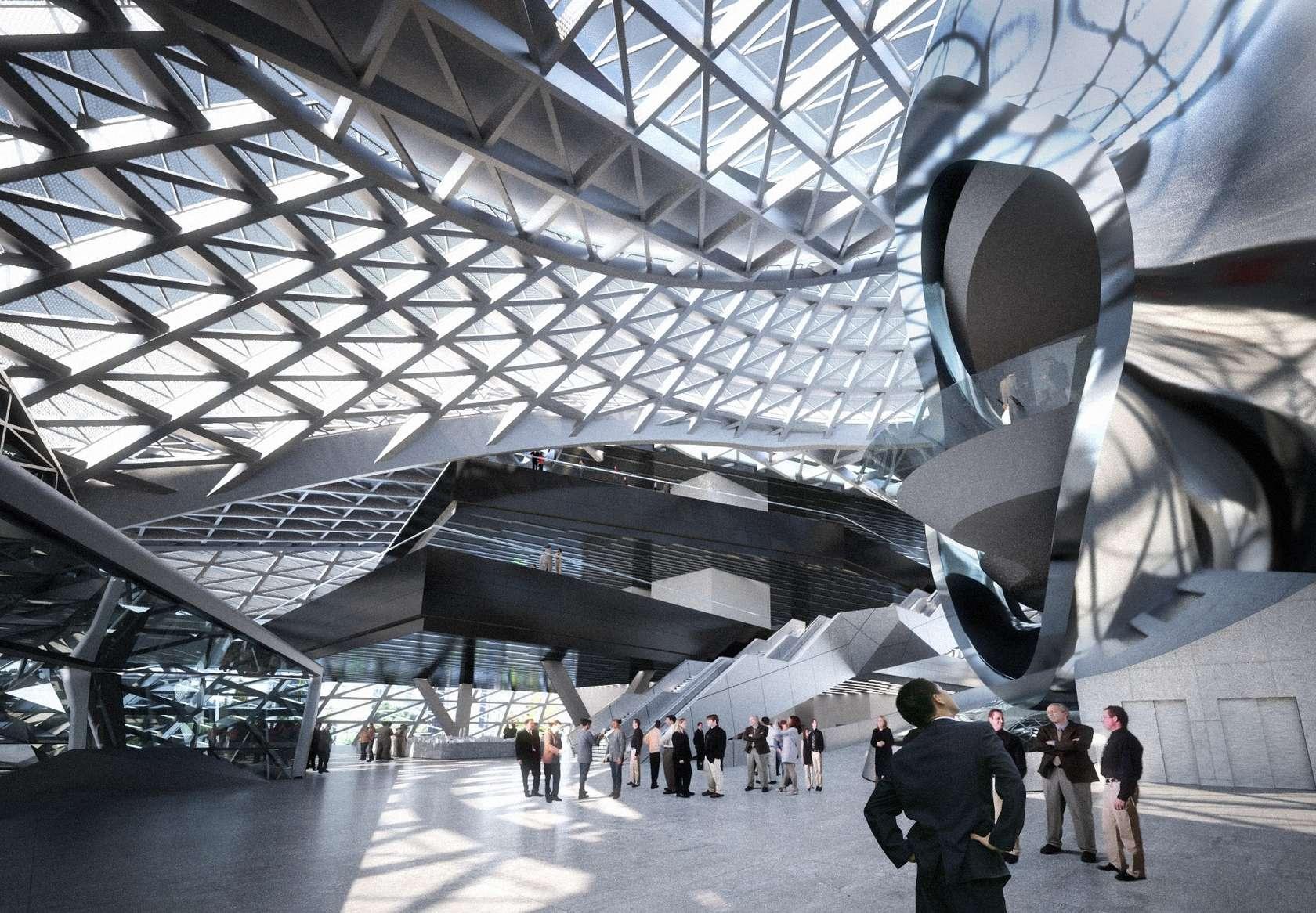 Royal Ontario Museum Floor Plan Museum Of Contemporary Art Amp Planning Exhibition Architizer