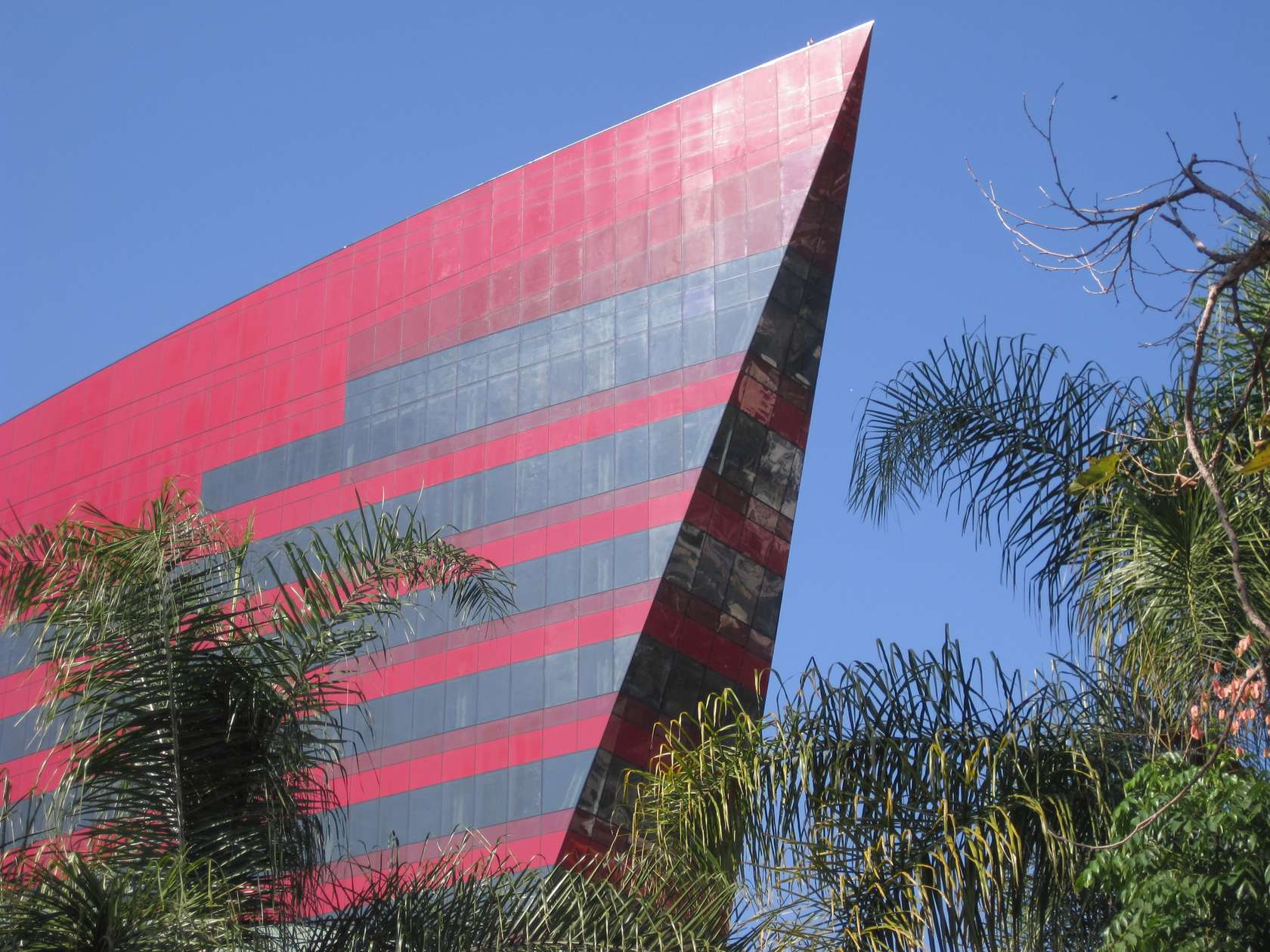Pacific Design Center Red Building Architizer