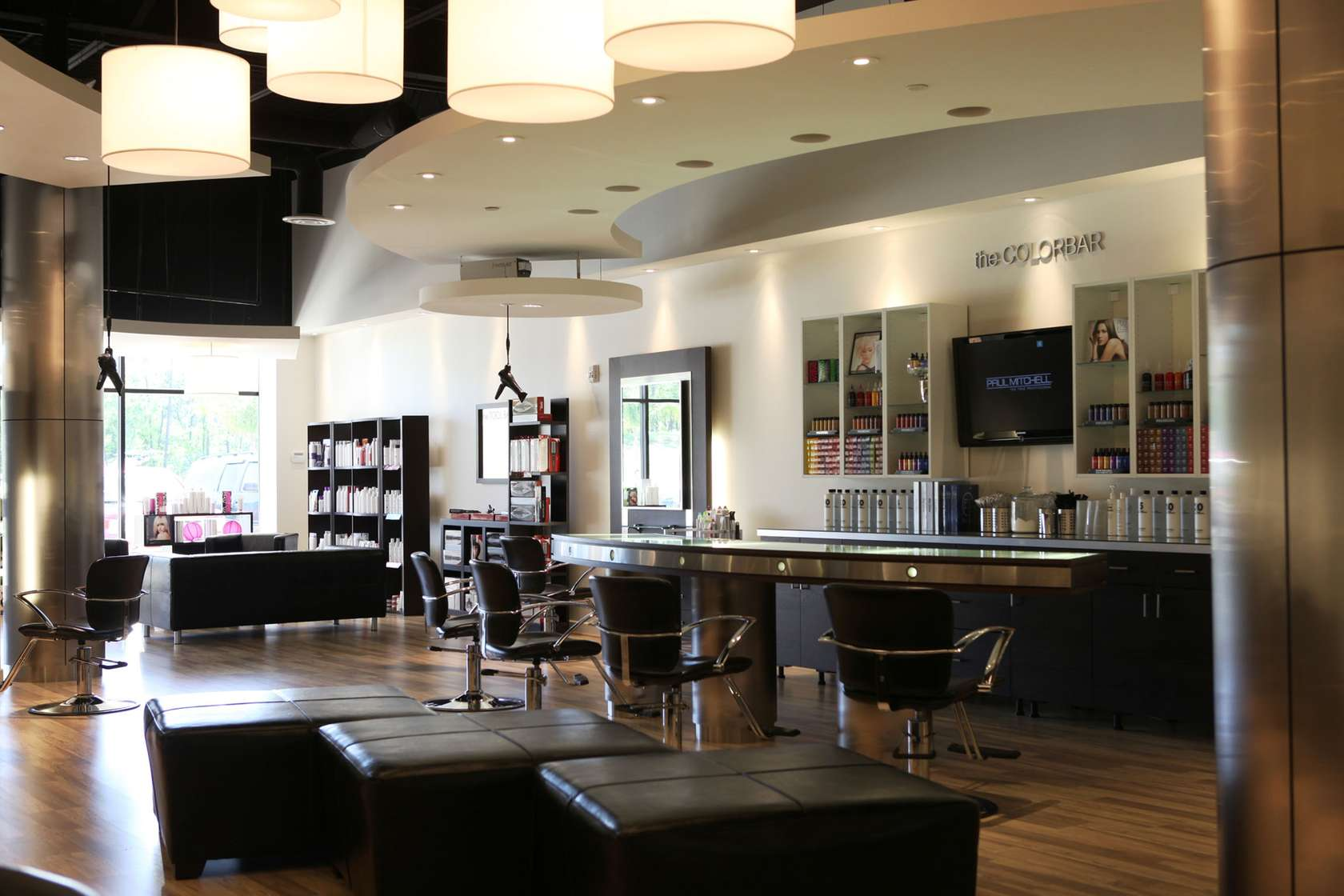 Beyond fringe architizer for A salon paul mitchell