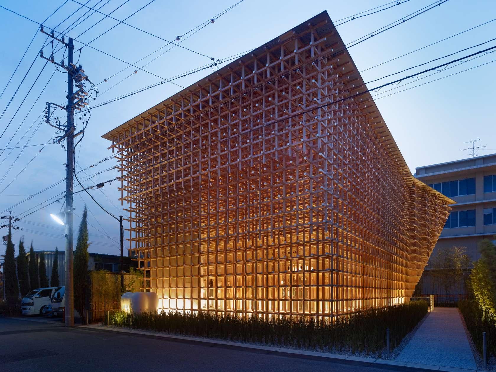 Kengo kuma and associates architizer for Architect associates