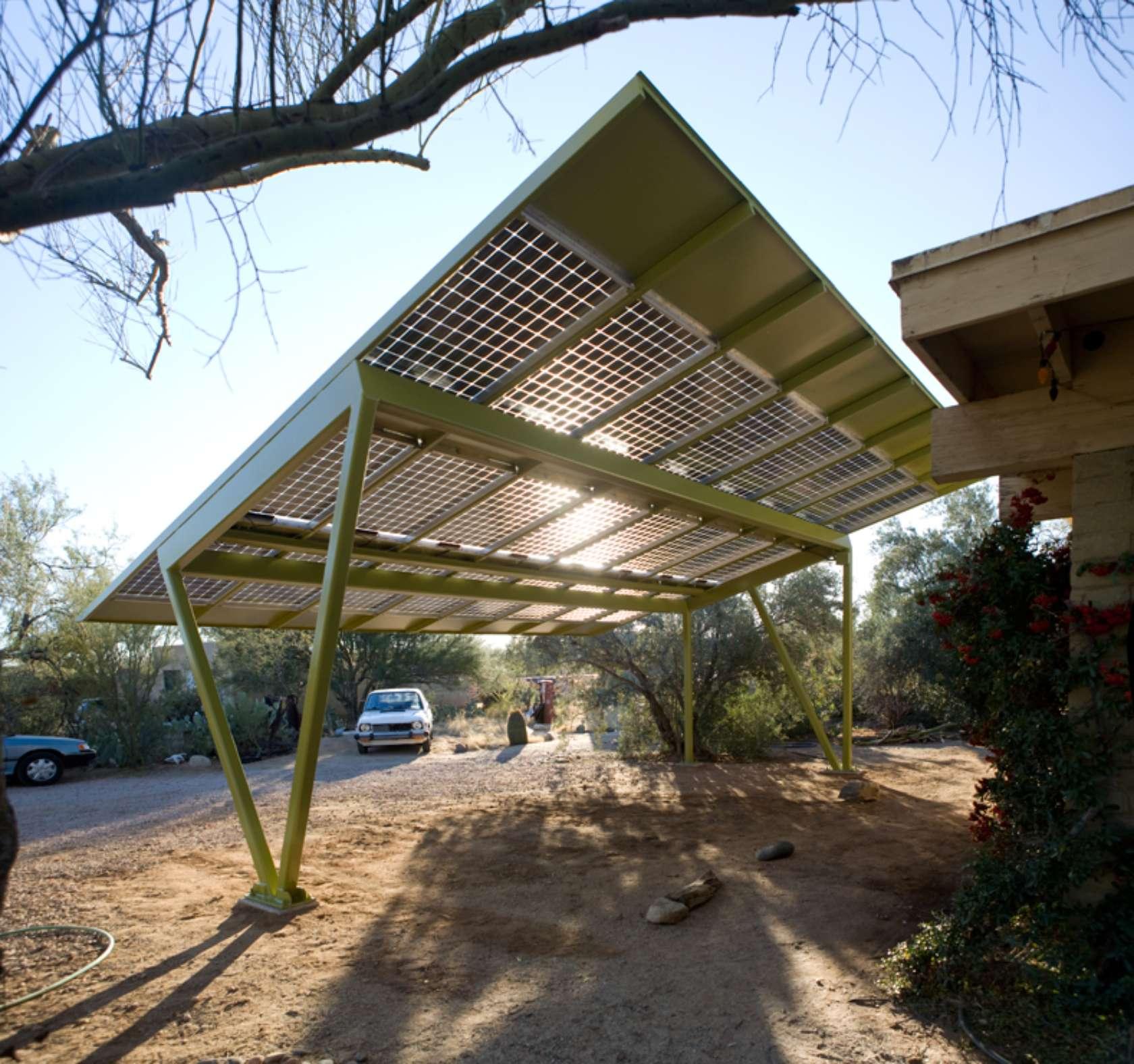 Image Result For Carport Under Modern House: Solar Carport