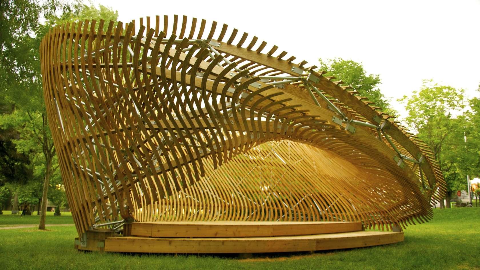 Contemplay pavilion architizer for Arquitectura parametrica