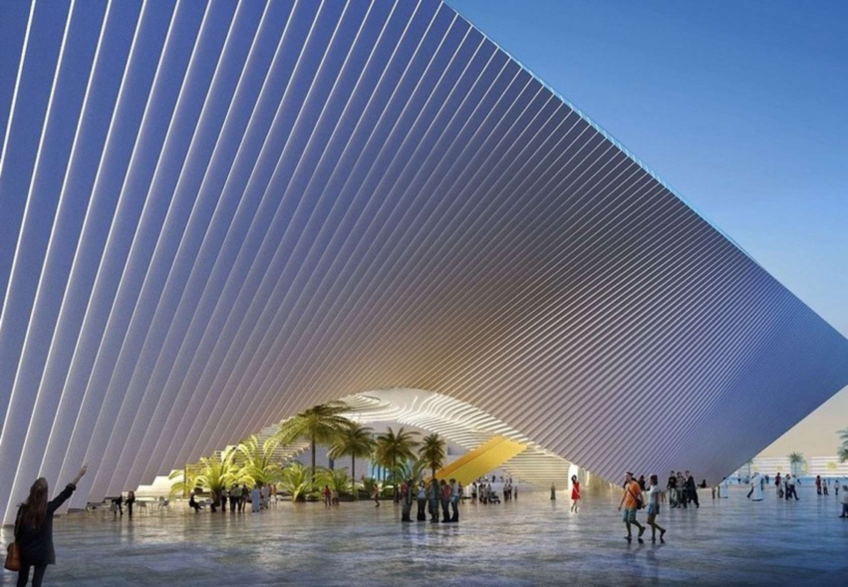 big and grimshaw reveal pavilions for expo 2020 in dubai architizer