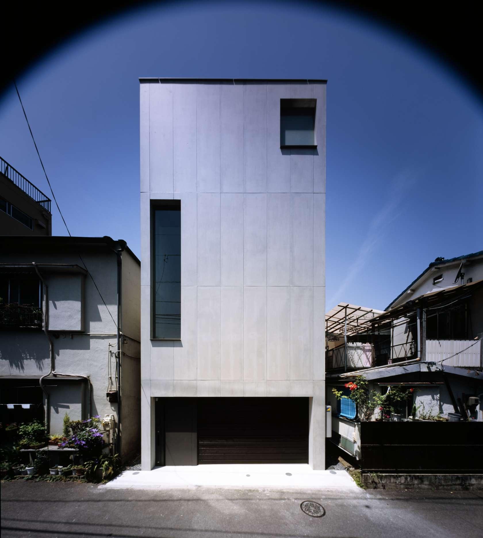 Keiji ashizawa design architizer - Residence contemporaine sky garden keiji ashizawa design ...