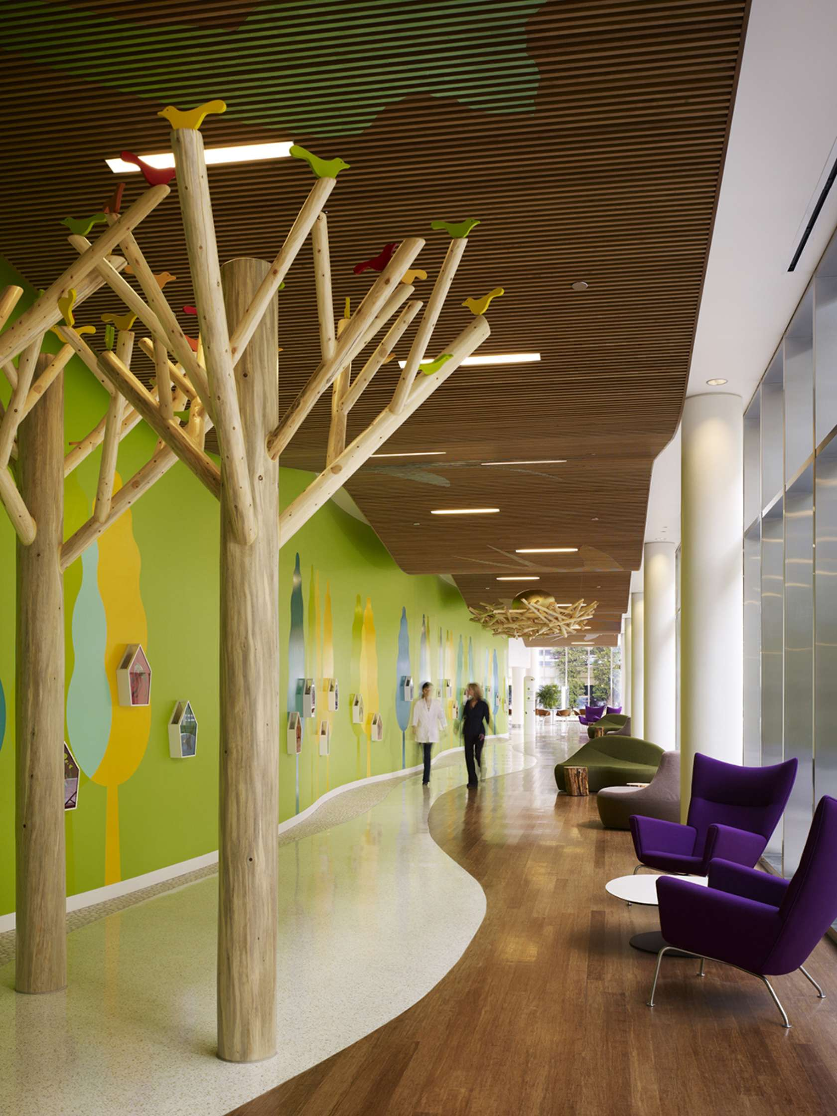 Randall children 39 s hospital at legacy emanuel architizer for Interior design firms europe