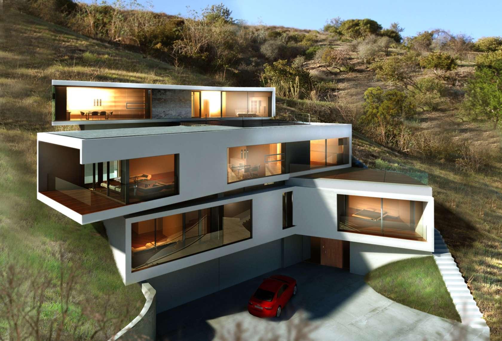 Los Angeles Hillside Modern Architizer