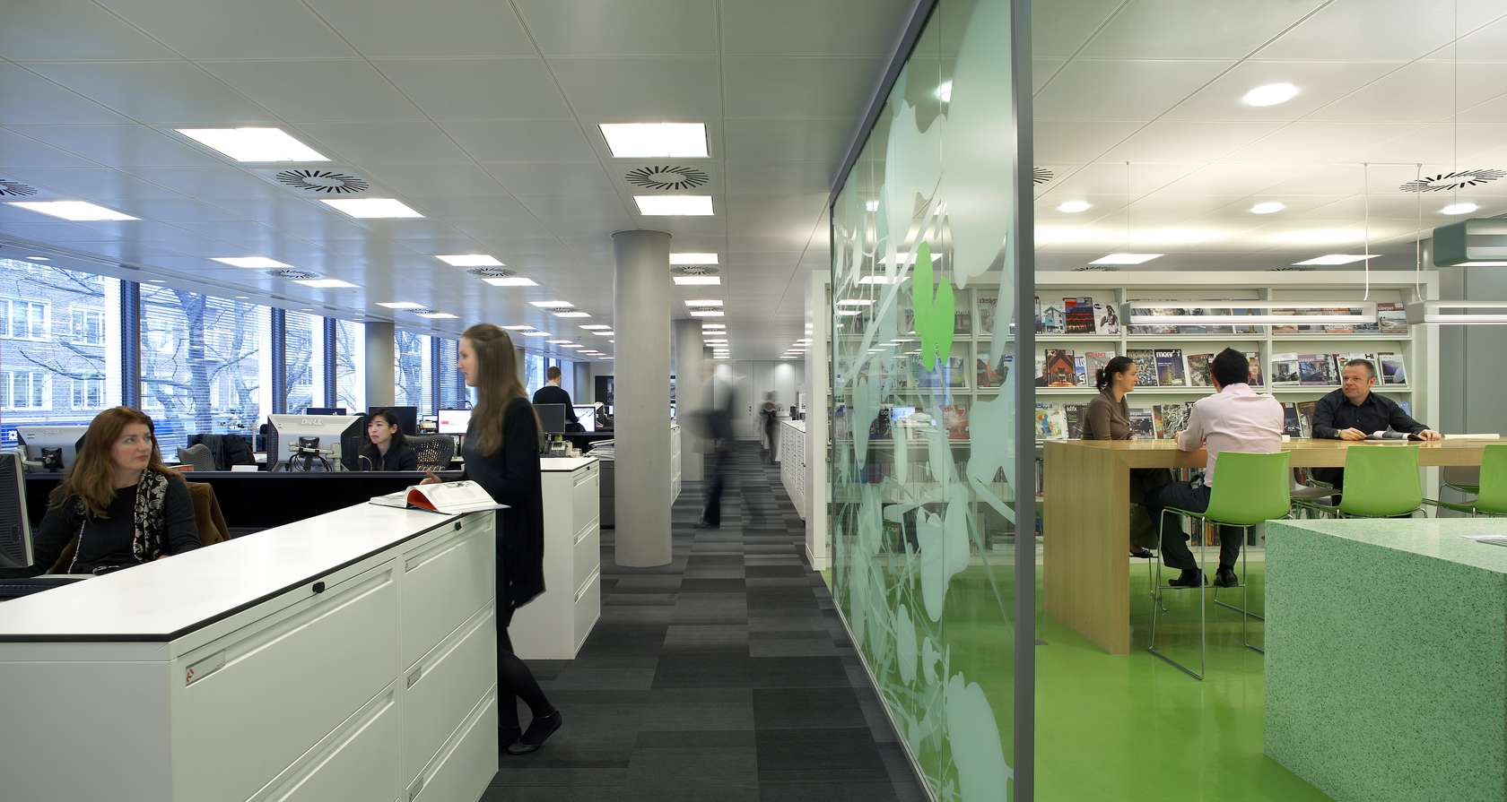 Hok london office architizer for Office design london