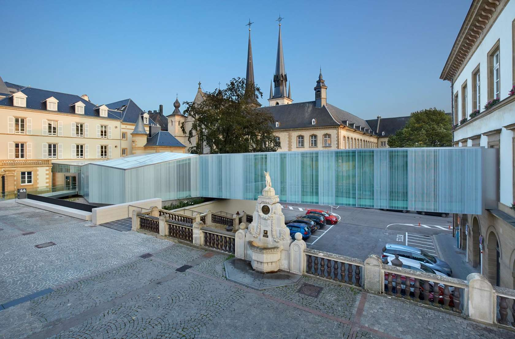 Centre guillaume ii luxembourg new bierger center for Cdc luxembourg