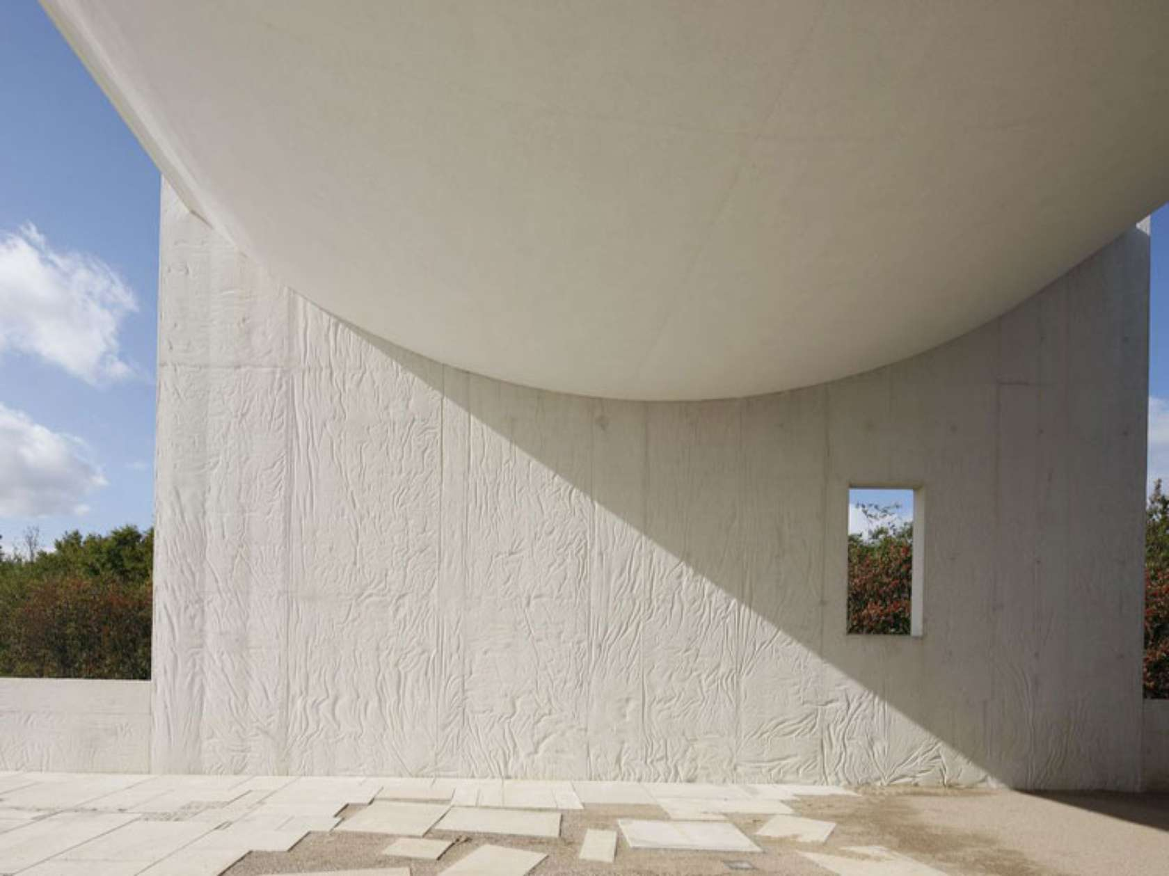 Steven holl architects architizer for White cement art