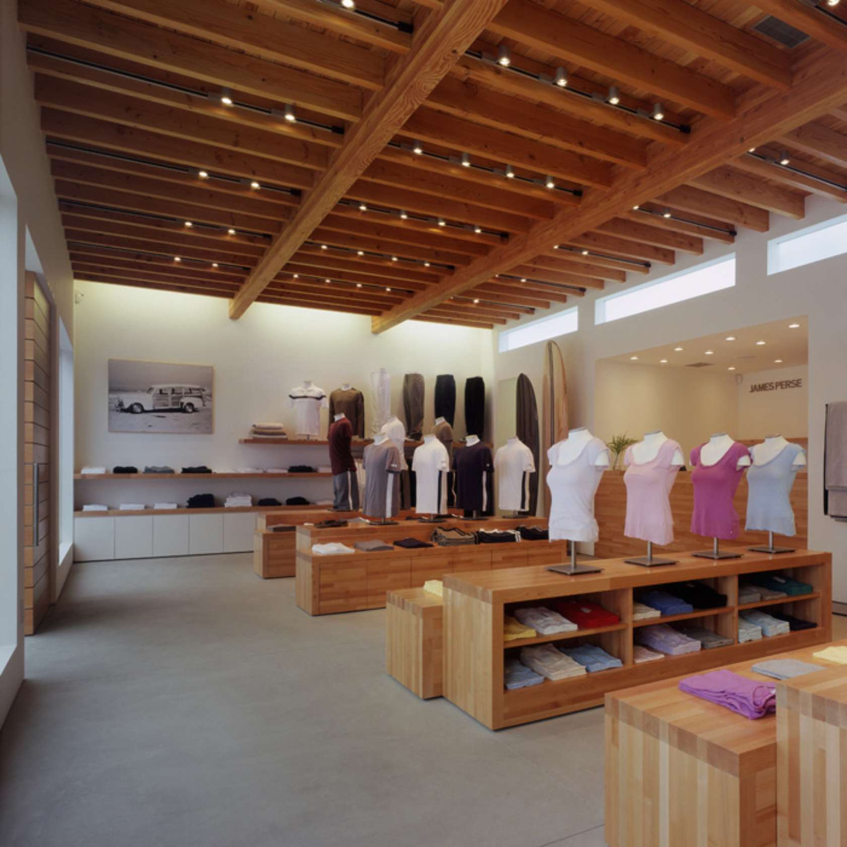 James perse store malibu architizer for Architecture perse