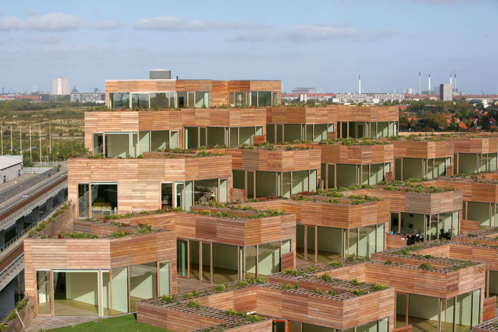 Big bjarke ingels group architizer for Danish terrace