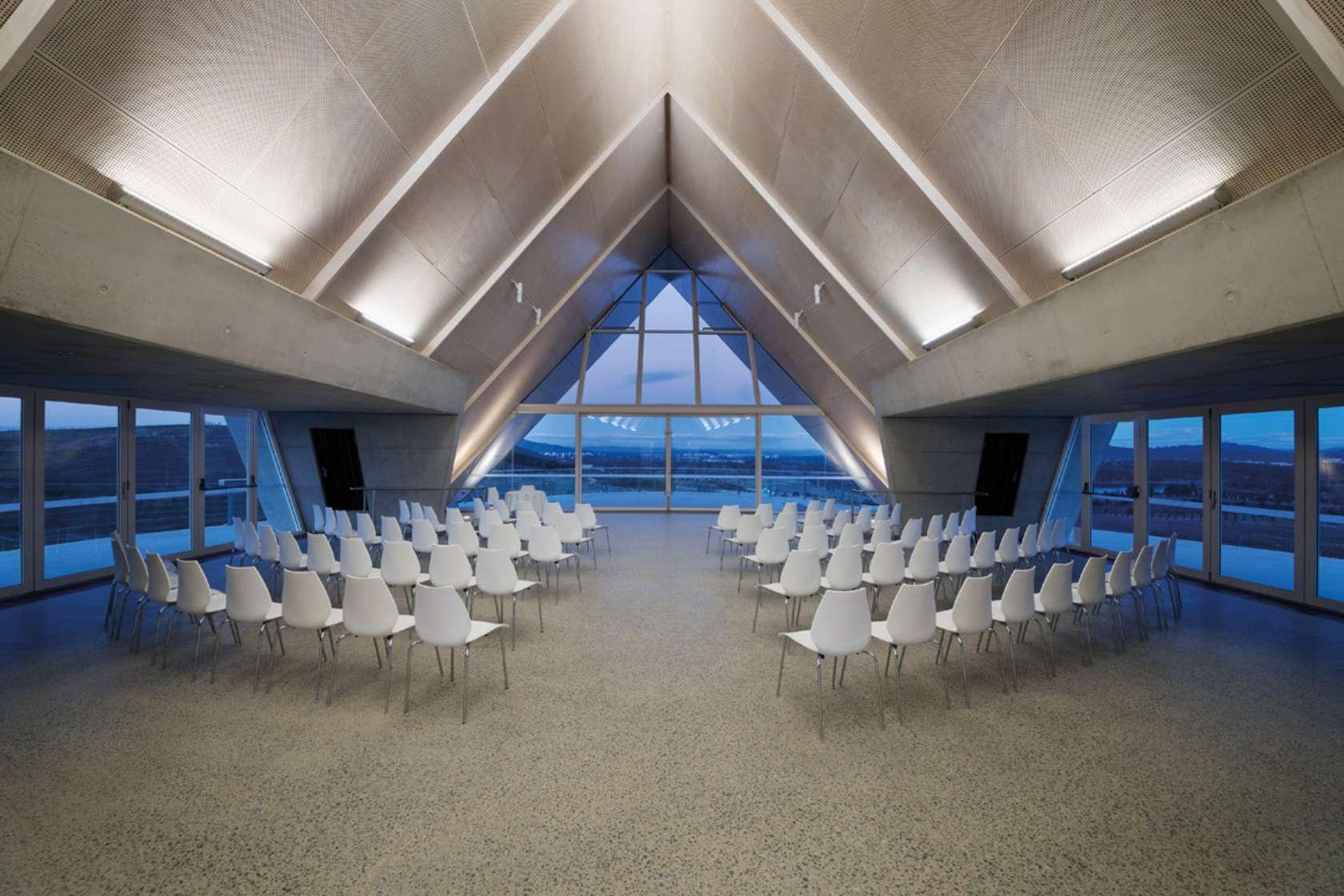 Margaret Whitlam Pavilion - interior