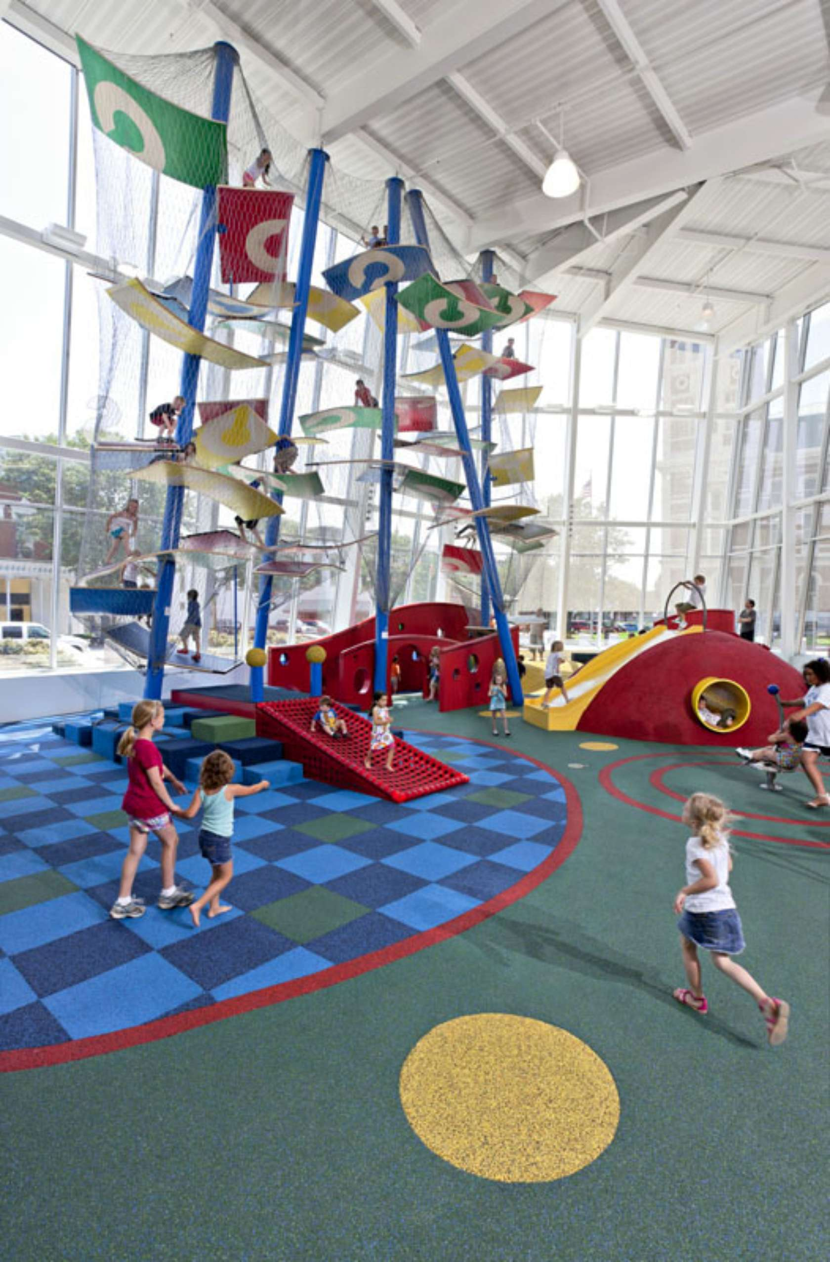 Columbus Commons Indoor Playground Architizer