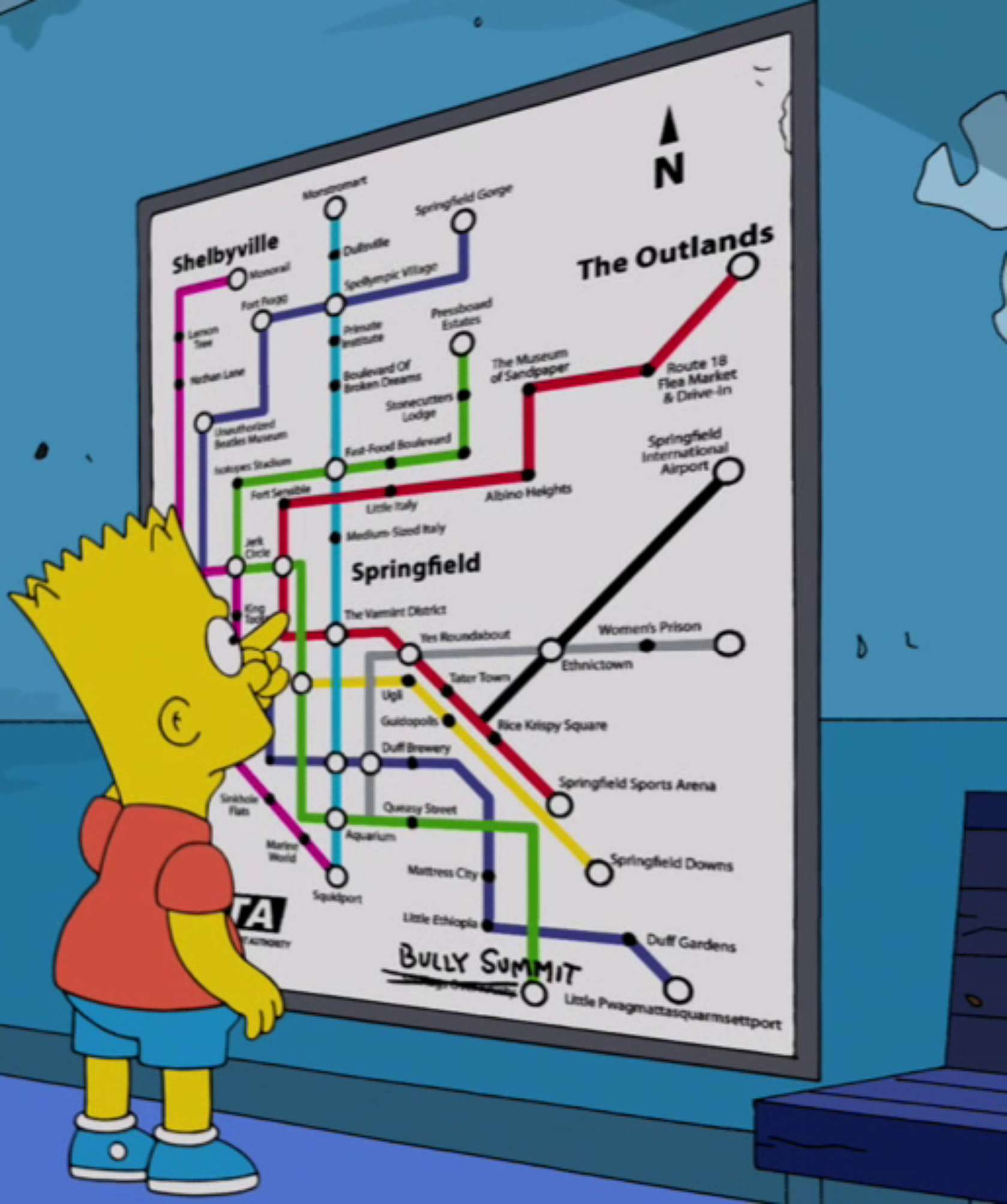 Next Stop Springfield Navigating The Simpsons39 New