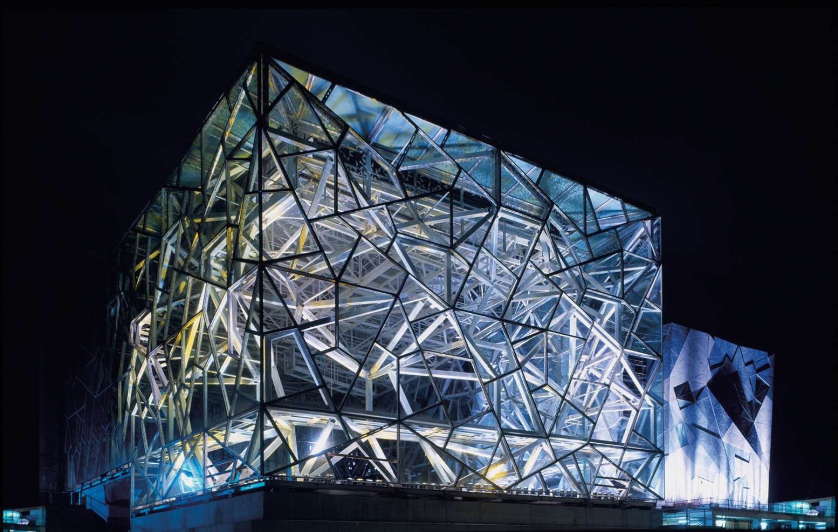 Federation square architizer for 9 square architecture
