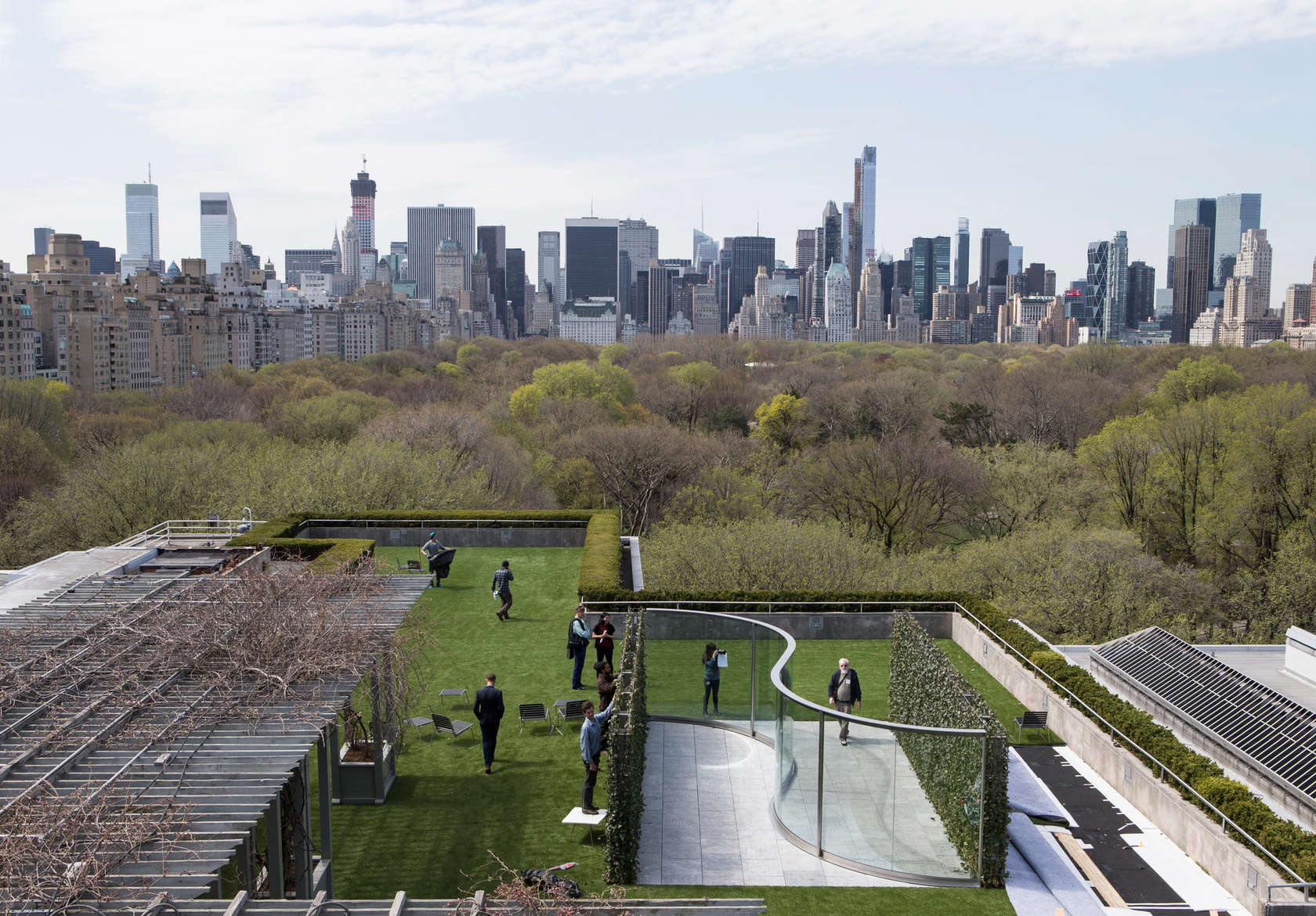 The Met Roof Garden Commission Architizer