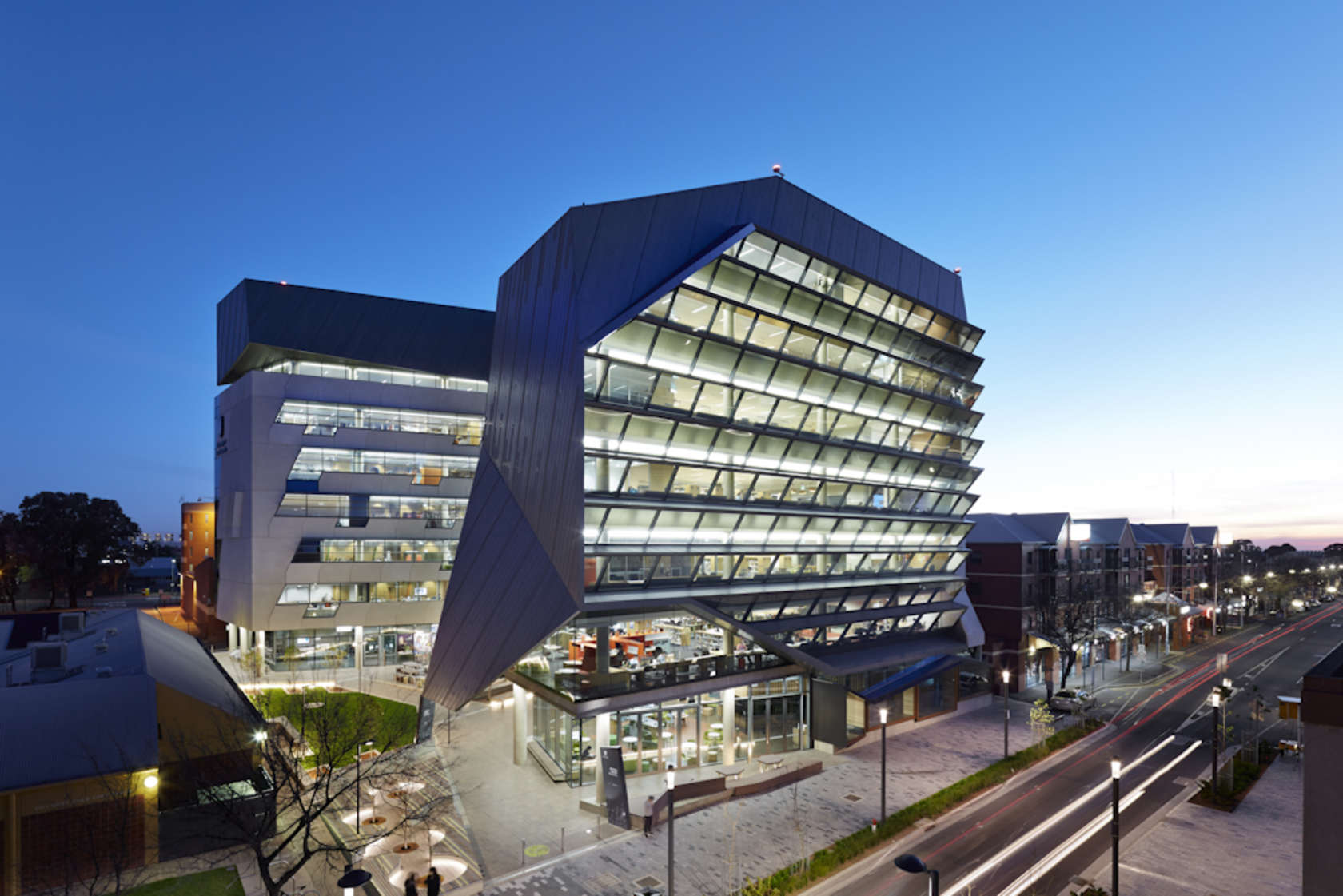 jeffrey smart building university of south australia