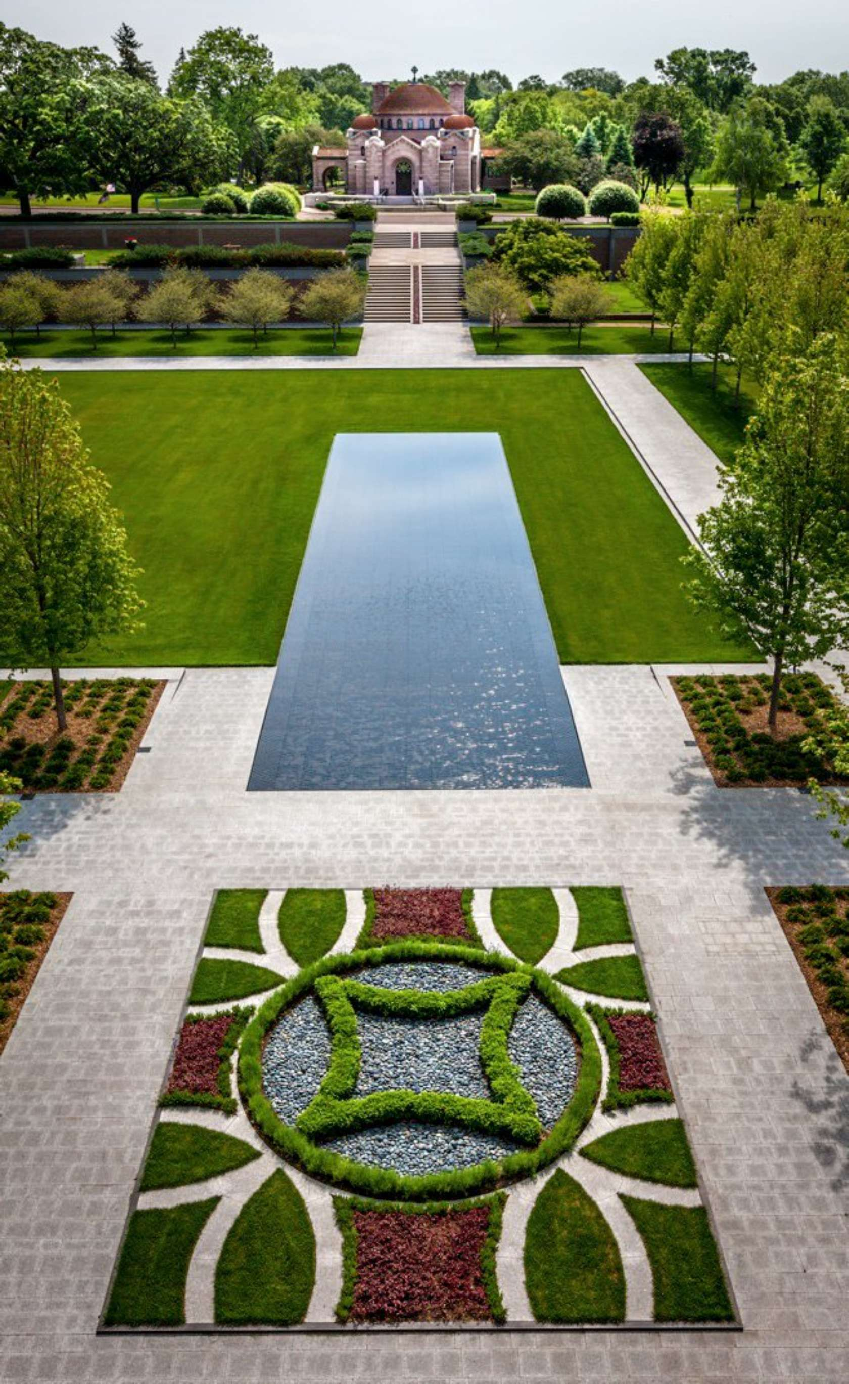 Garden mausoleum at lakewood cemetery architizer Mausoleum design