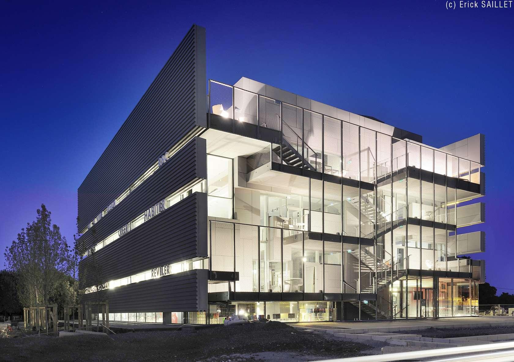 Rbc design center architizer for Jean nouvel design