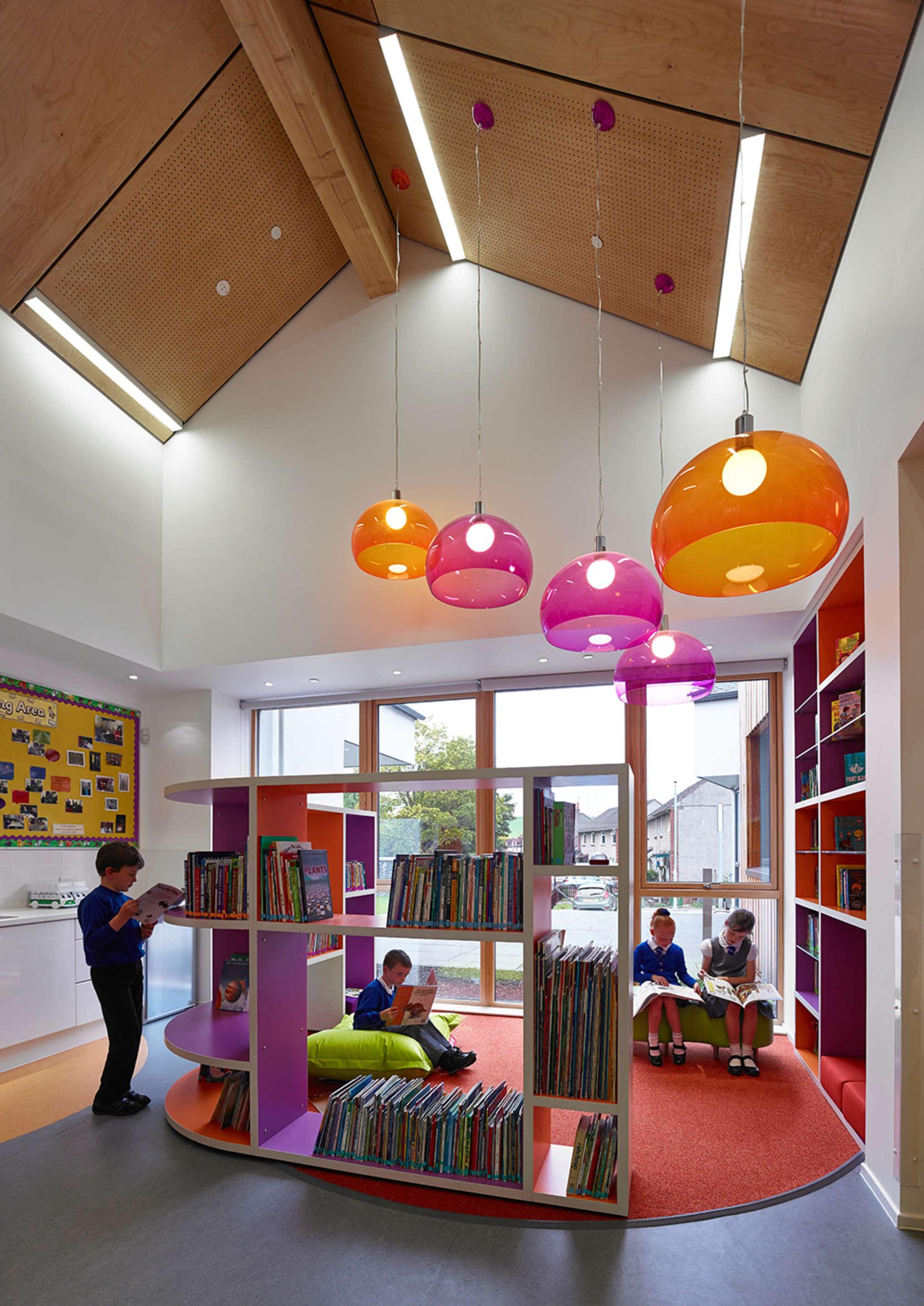 Kirkmichael primary school architizer - Interior design for school buildings ...